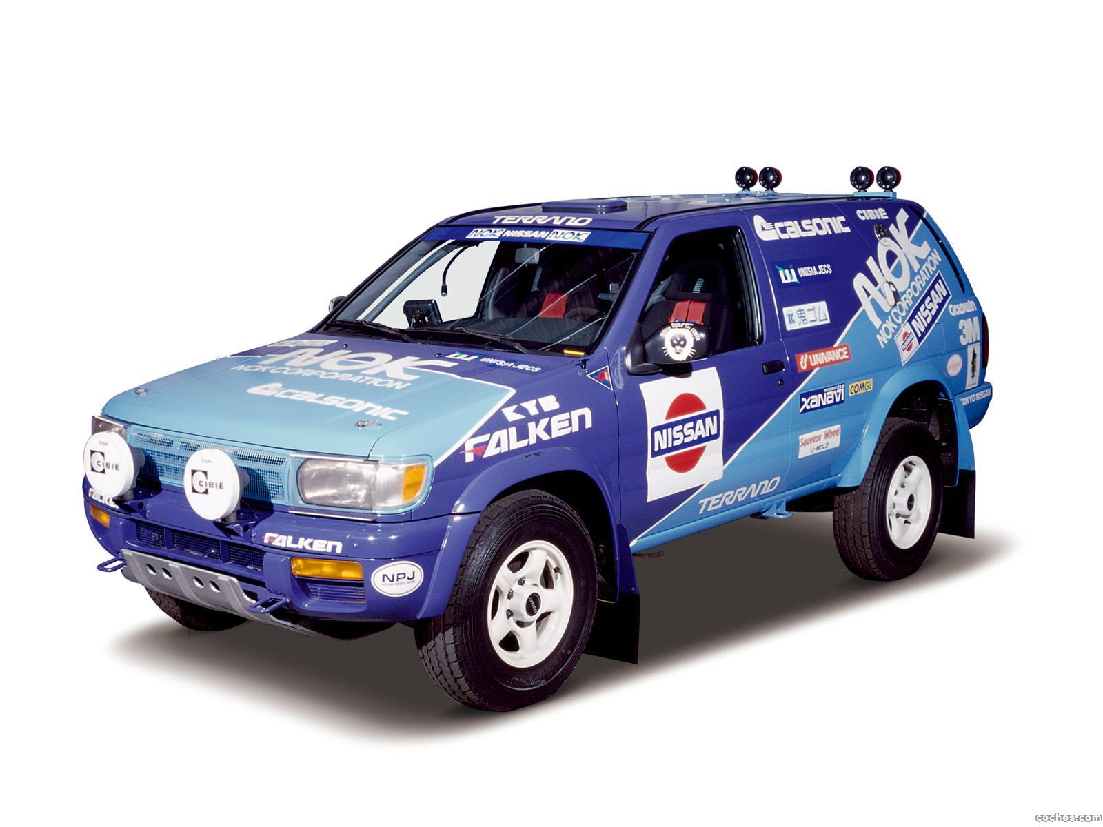 Foto 0 de Nissan Terrano Rally Car R50 1995