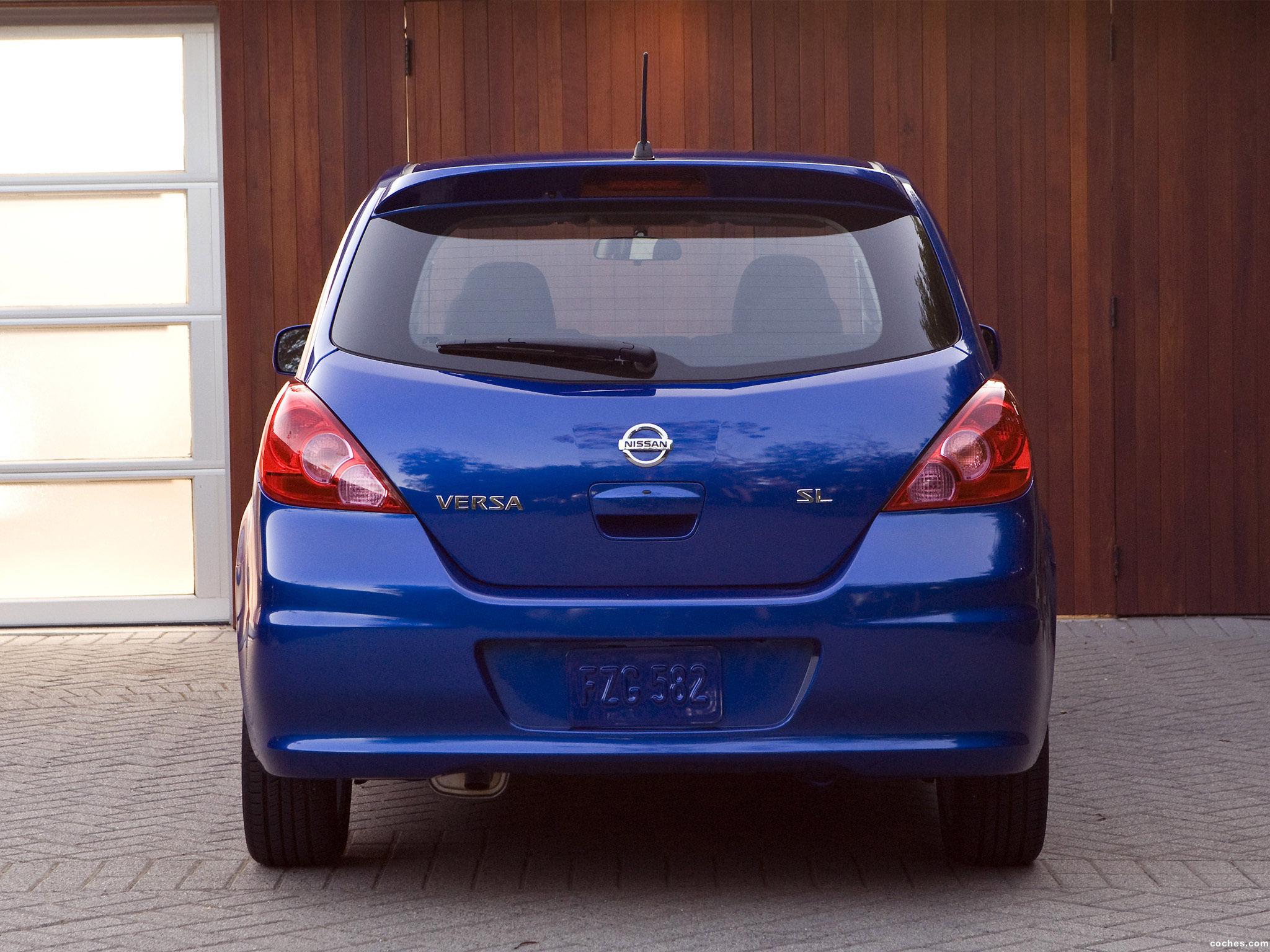 Foto 6 de Nissan Versa Hatchback 2009