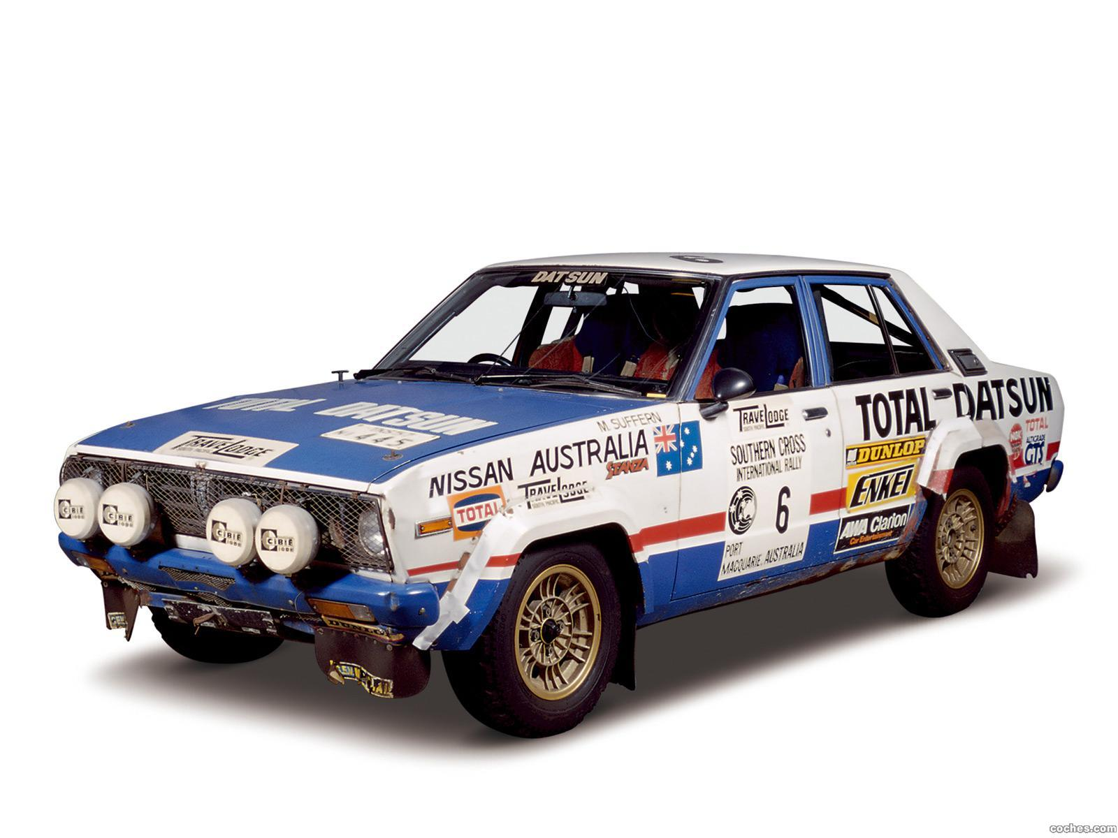 Foto 0 de Nissan Violet Rally CA A10 1978