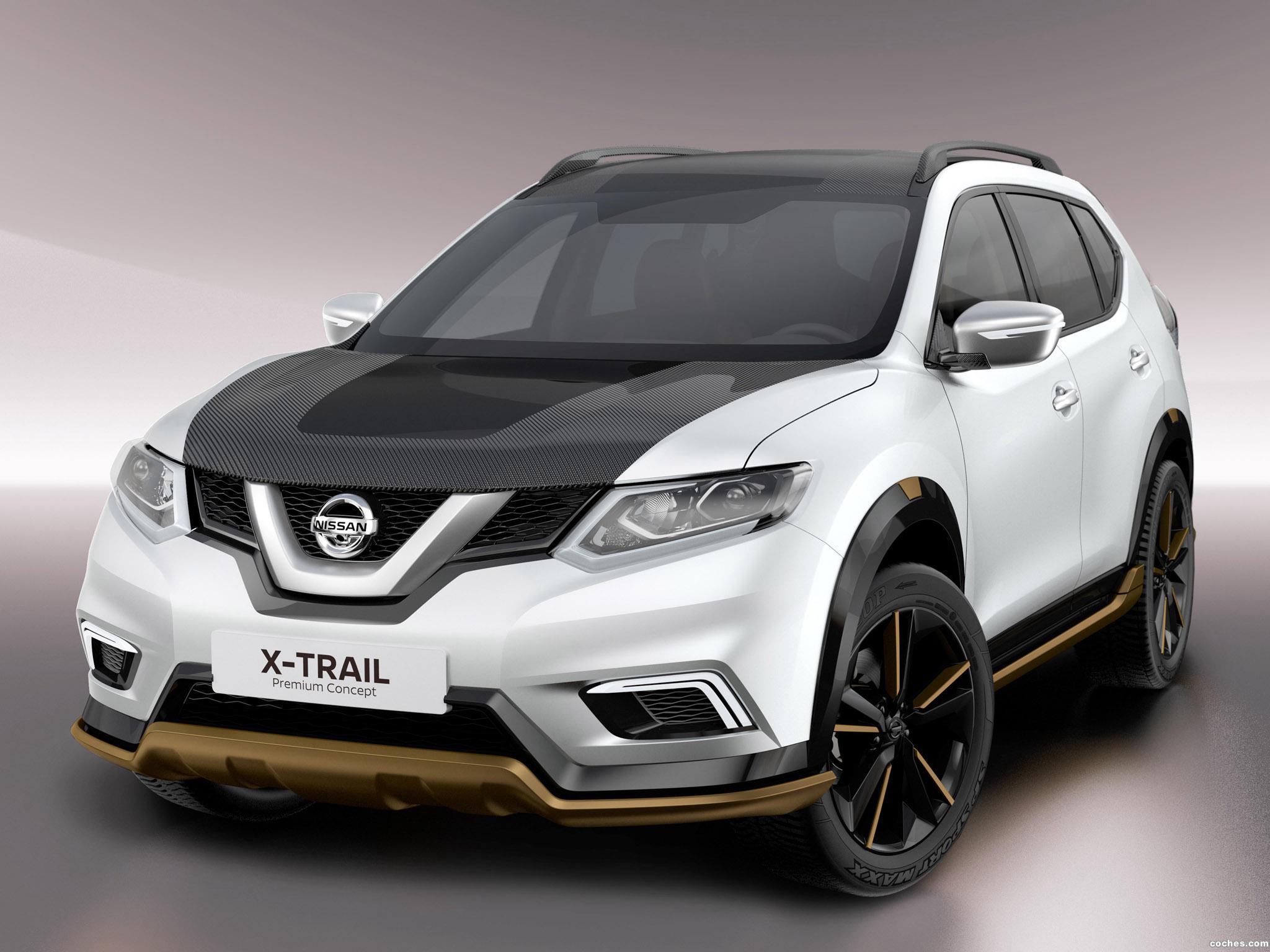 Foto 0 de Nissan X-Trail Premium Concept T32 2016