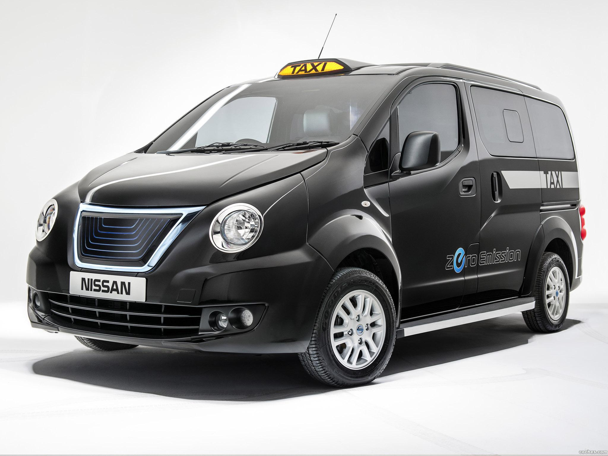 Foto 0 de Nissan e-NV200 London Taxi Prototype 2014