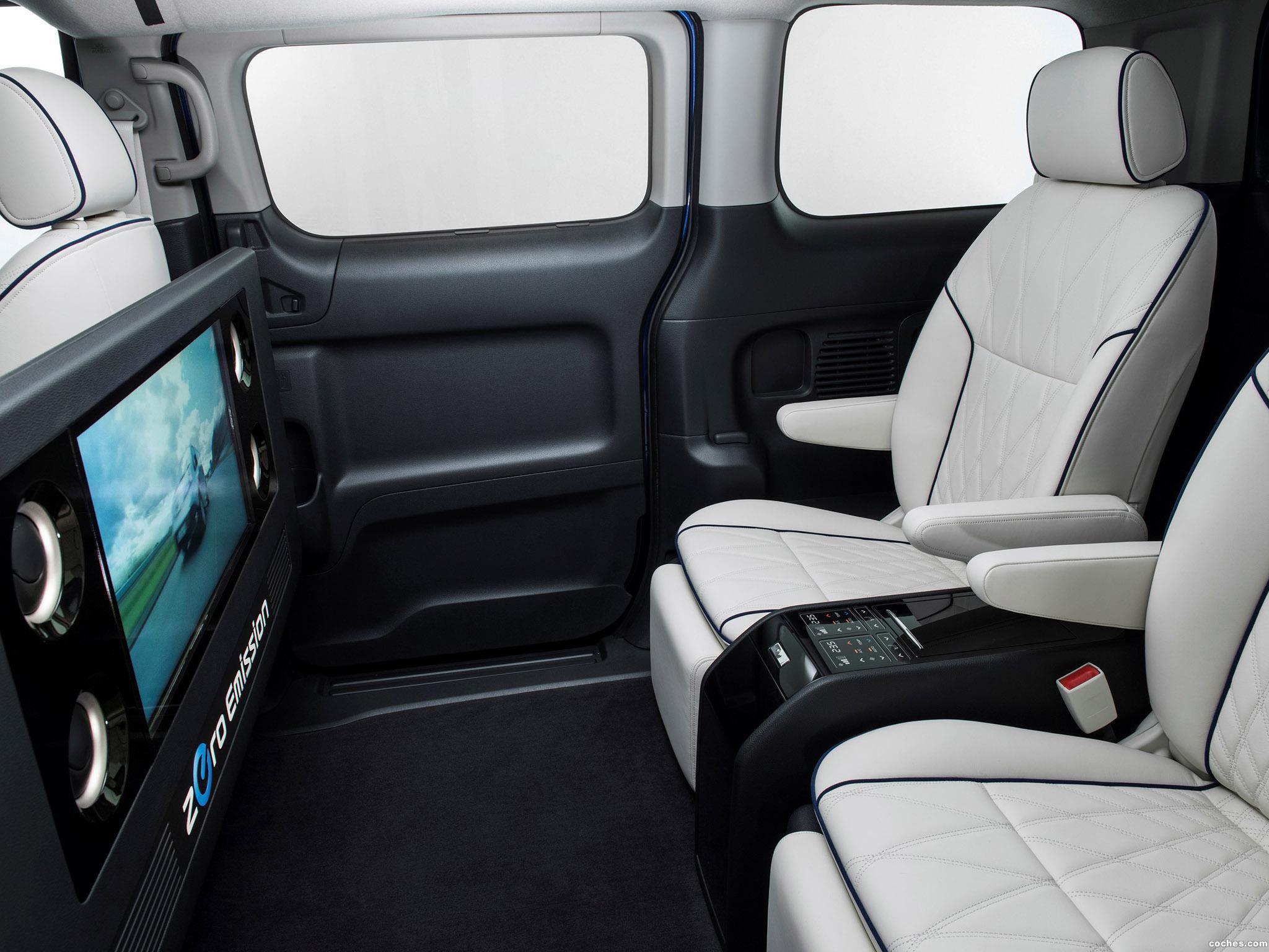 Foto 5 de Nissan e-NV200 VIP Concept 2014