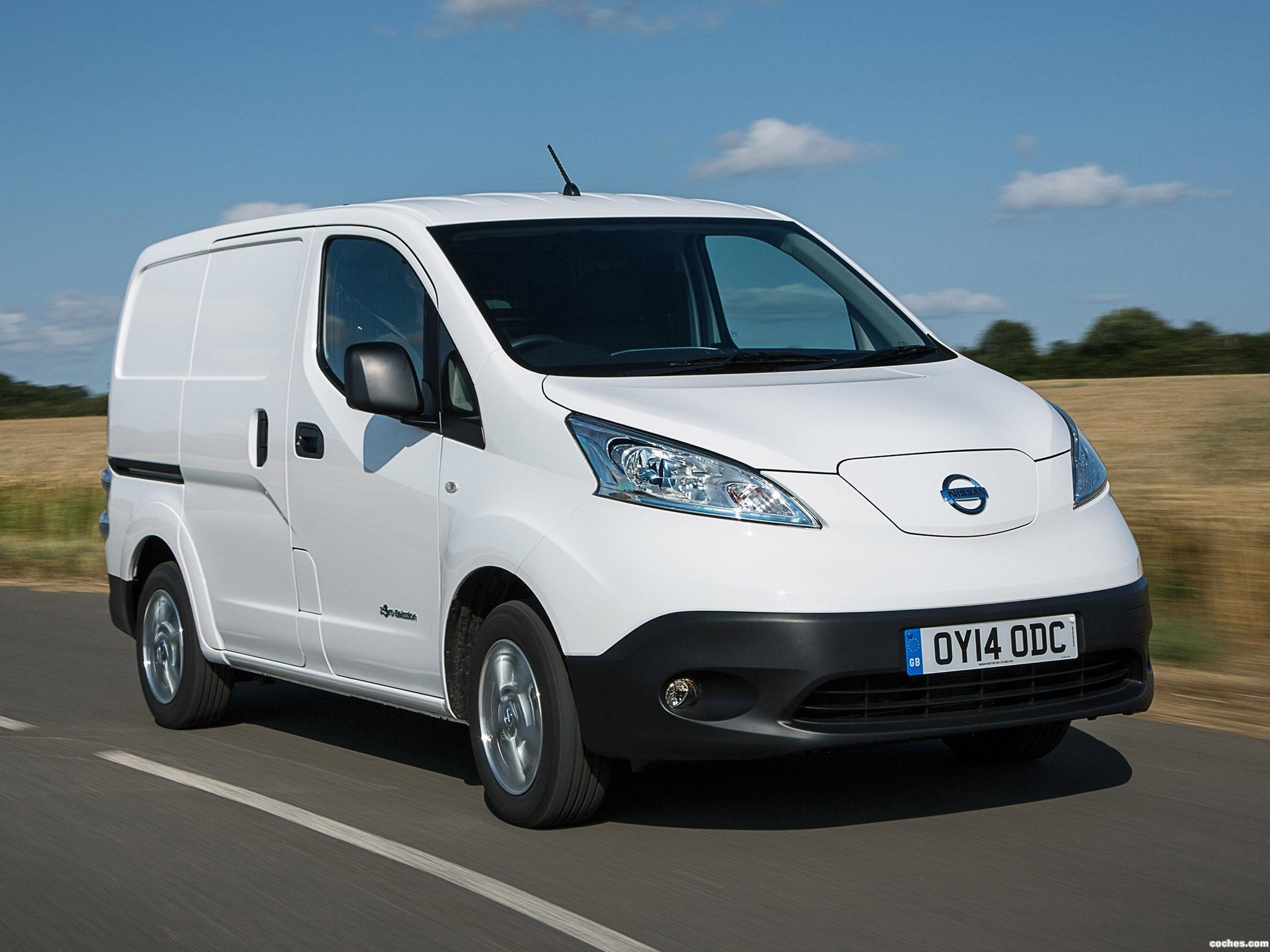 Foto 0 de Nissan e-NV200 Van UK 2014