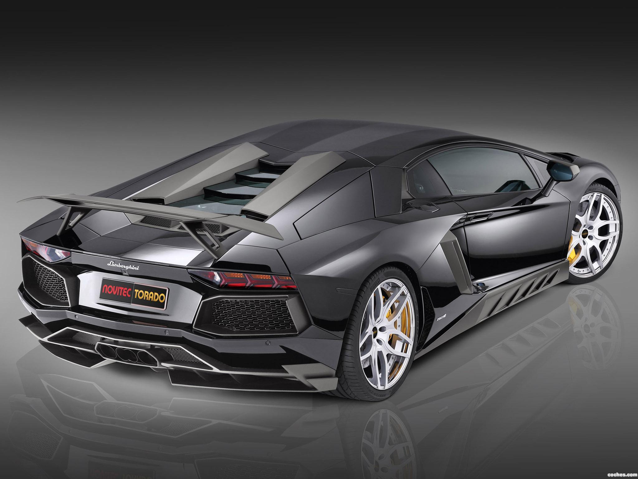 Foto 3 de Novitec Torado Lamborghini Aventador LP700-4 2013