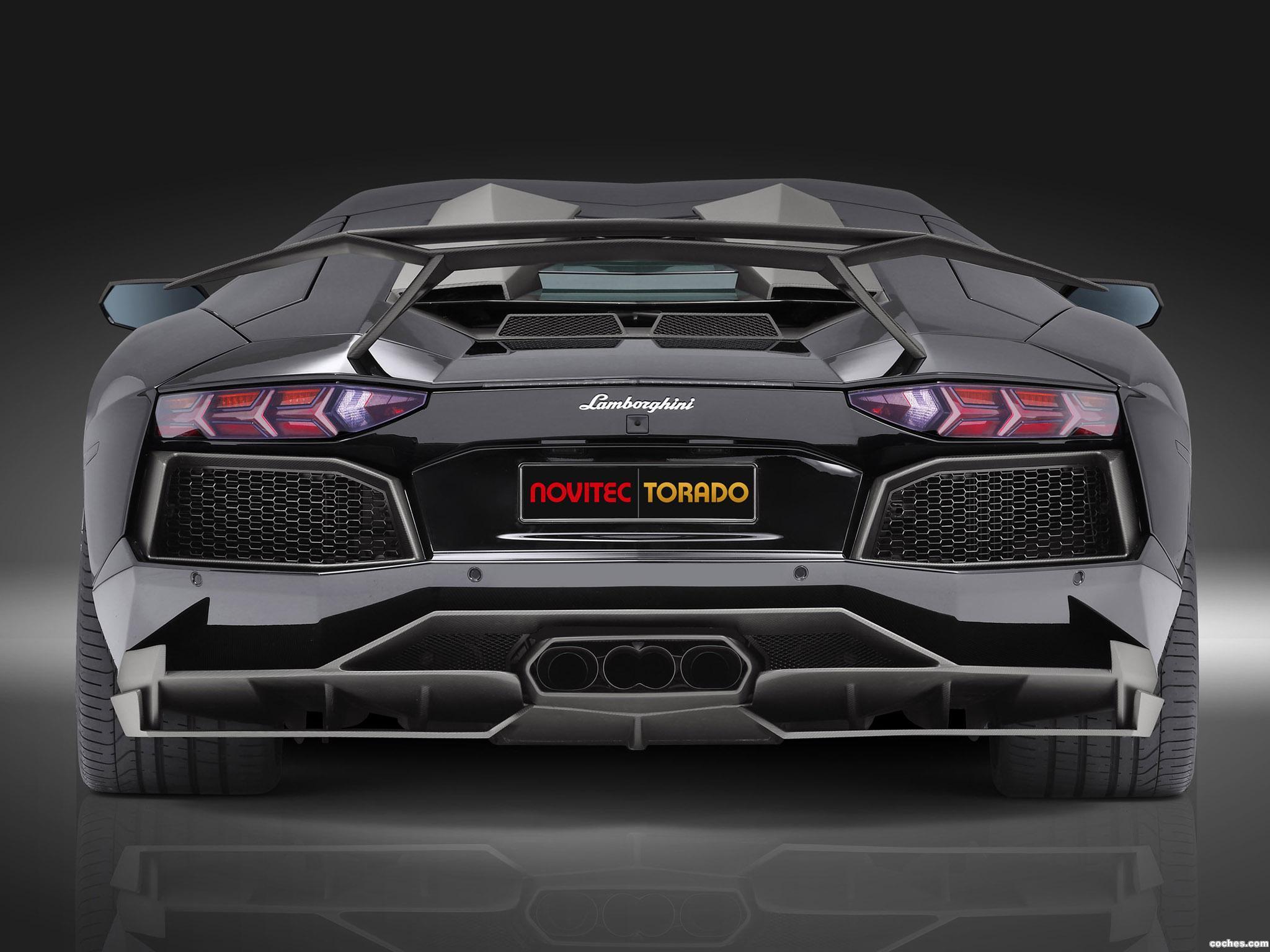Foto 2 de Novitec Torado Lamborghini Aventador LP700-4 2013