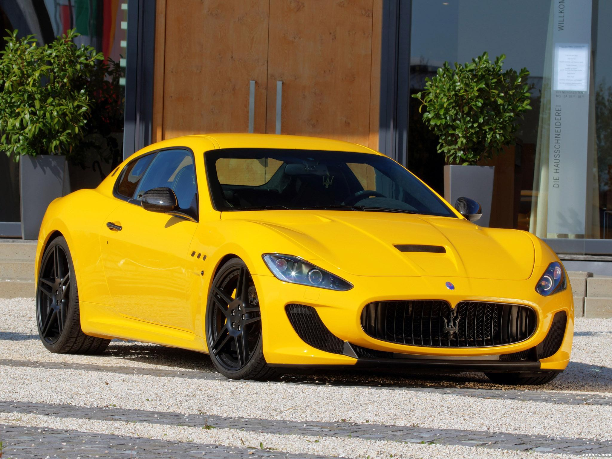 Foto 0 de Novitec Maserati GranTurismo MC Stradale Tridente 2011