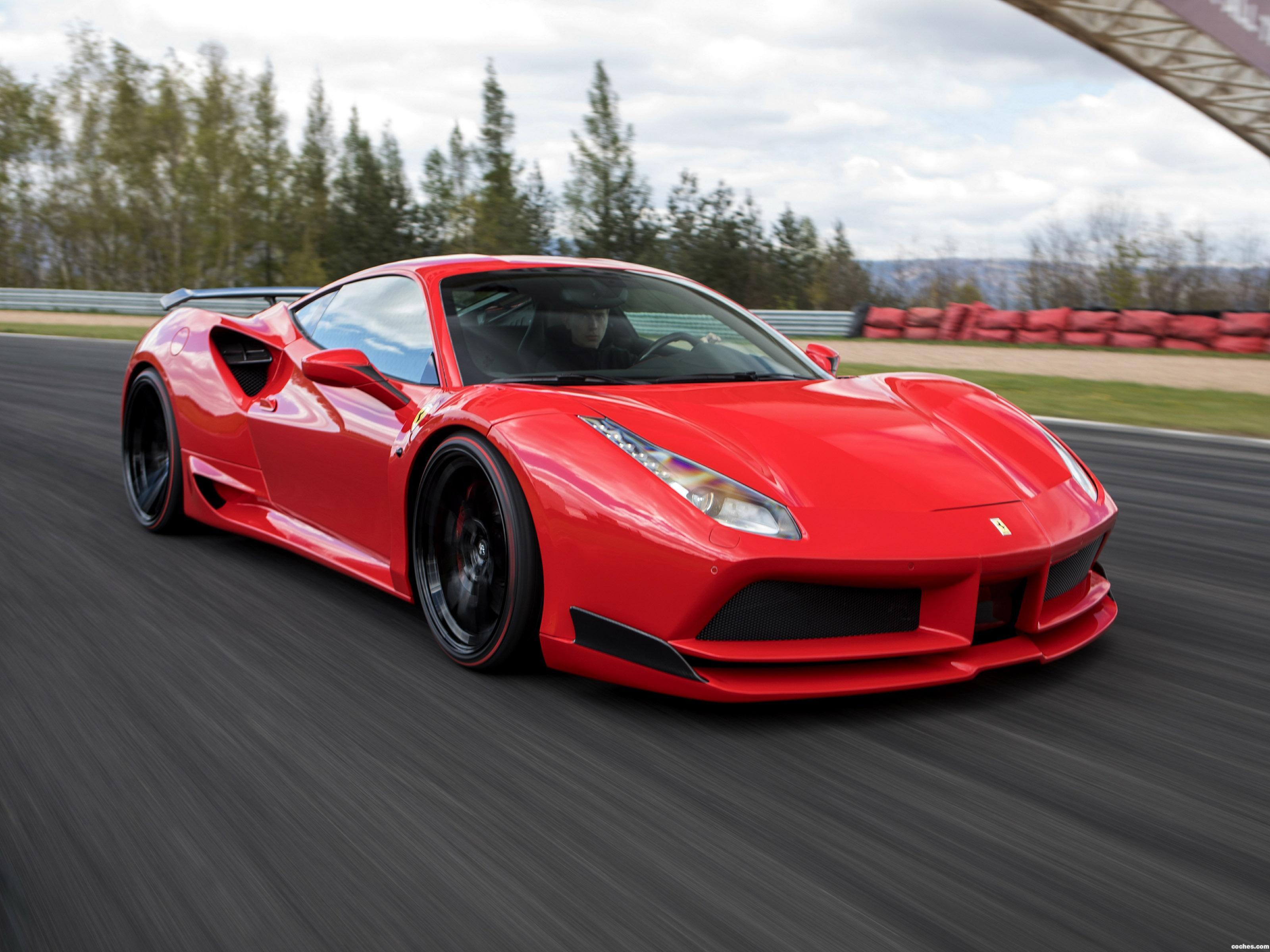Foto 0 de Ferrari 488 GTB N Largo Novitec 2017