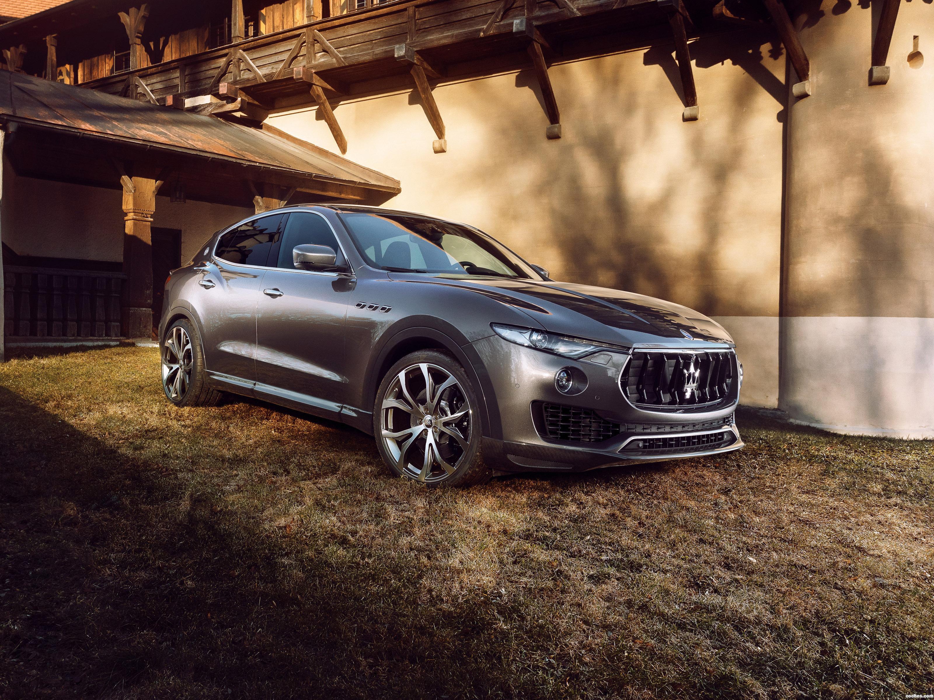 Foto 7 de Novitec Tridente Maserati Levante 2017