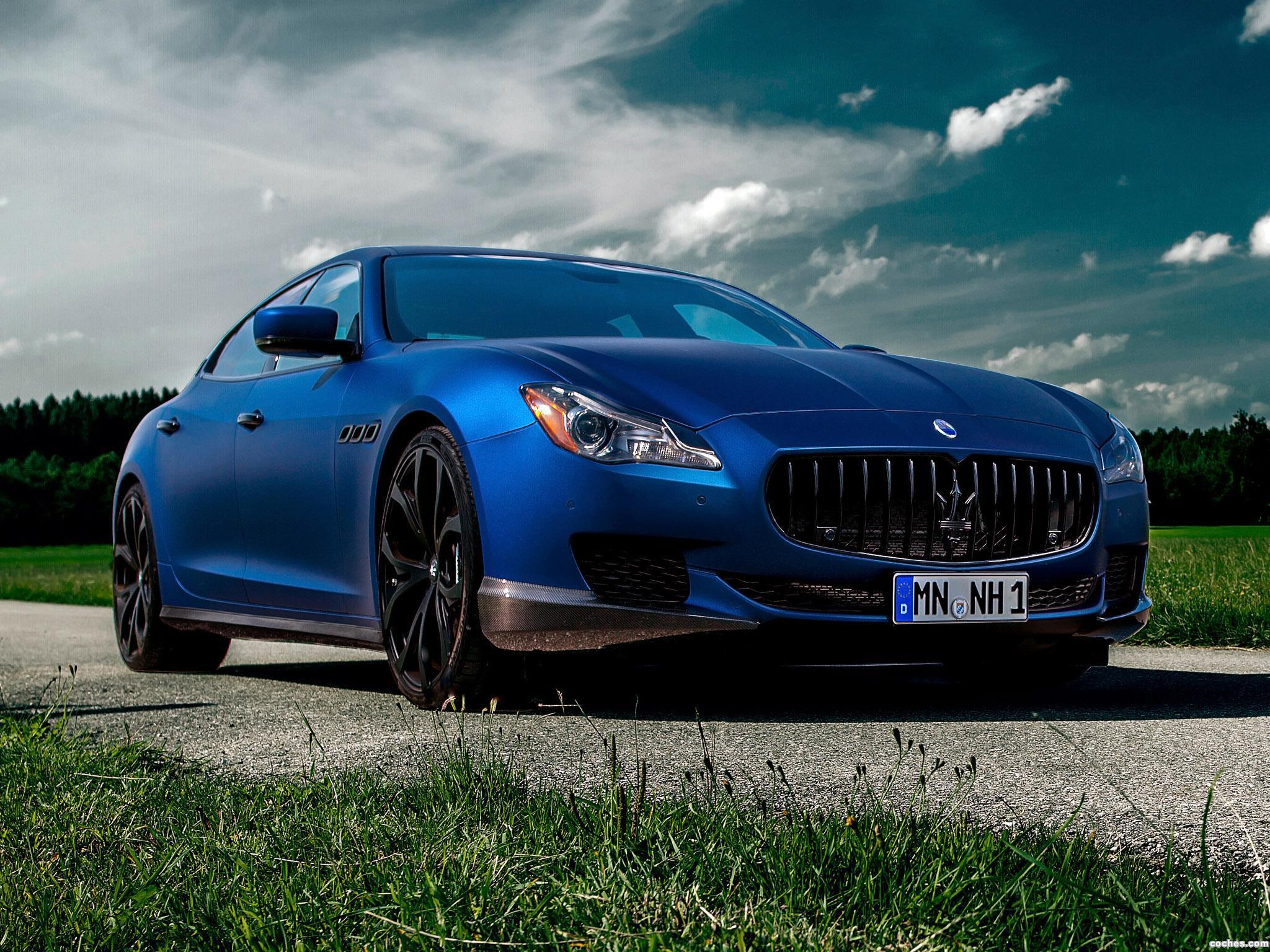 Foto 0 de Novitec Tridente Maserati Quattroporte GTS 2014