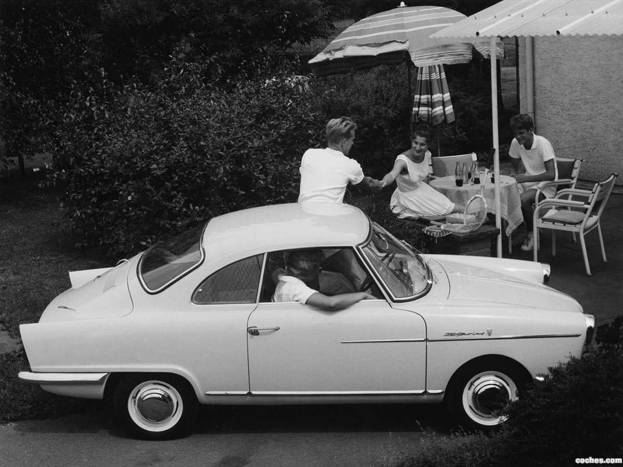 Foto 1 de NSU Coupe Sport Prinz 1958