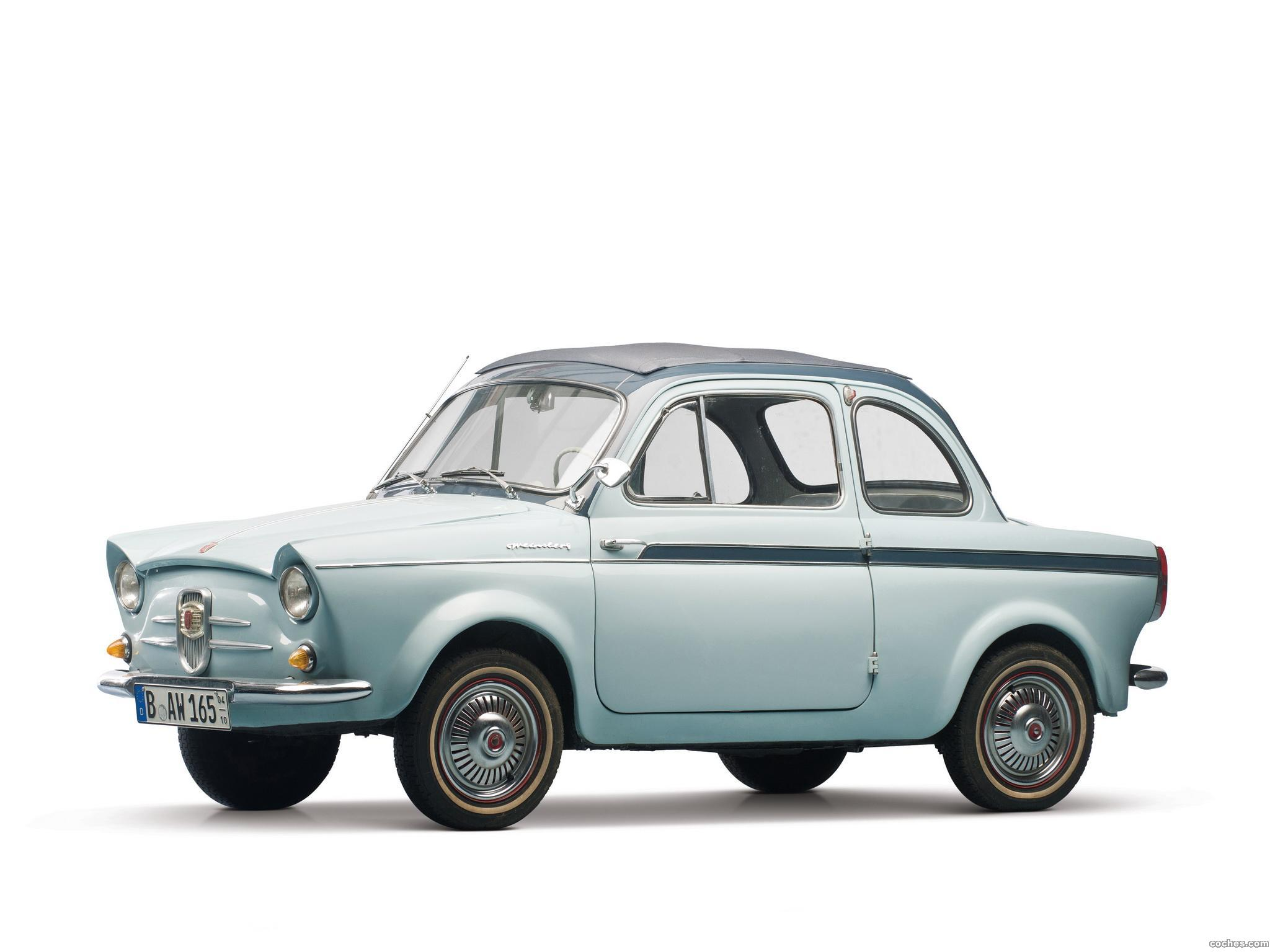 Foto 0 de NSU Fiat Weinsberg 500 Limousette 1960