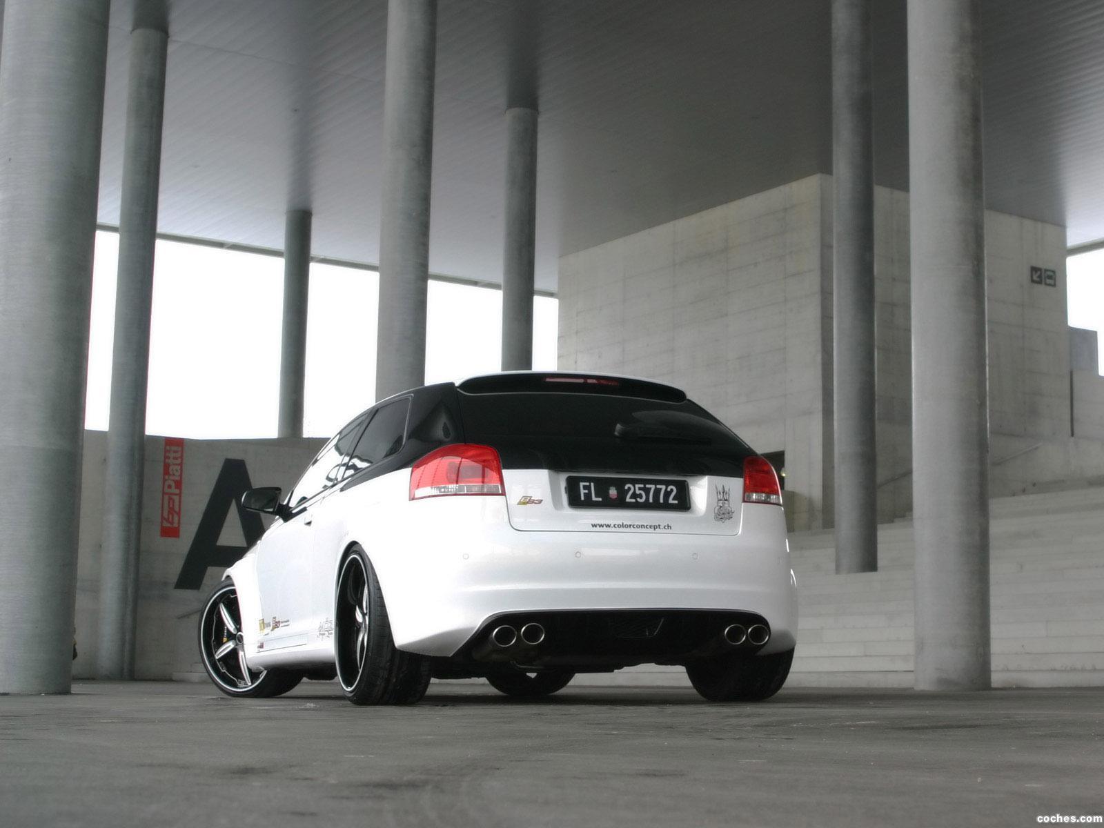 Foto 3 de OCT Audi A3 BS3 Boehler Concept 2012