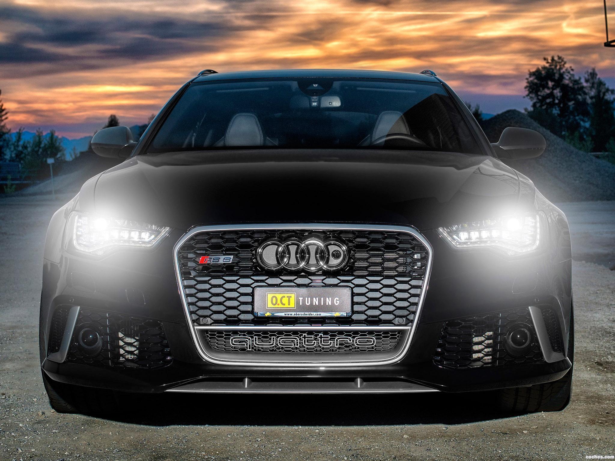 Foto 0 de Audi OCT RS6 Avant 2013