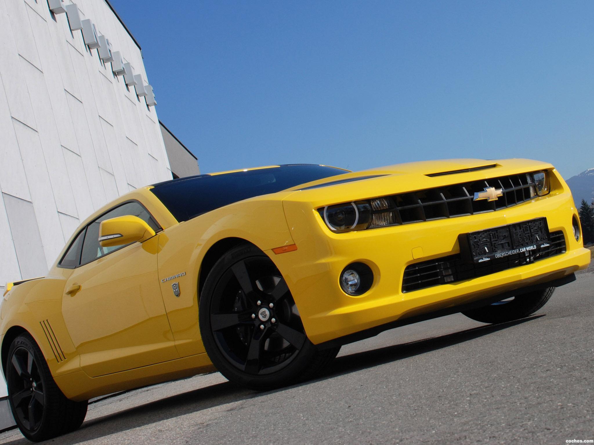 Foto 6 de OCT Chevrolet Camaro Yellow Steam Hammer  2012