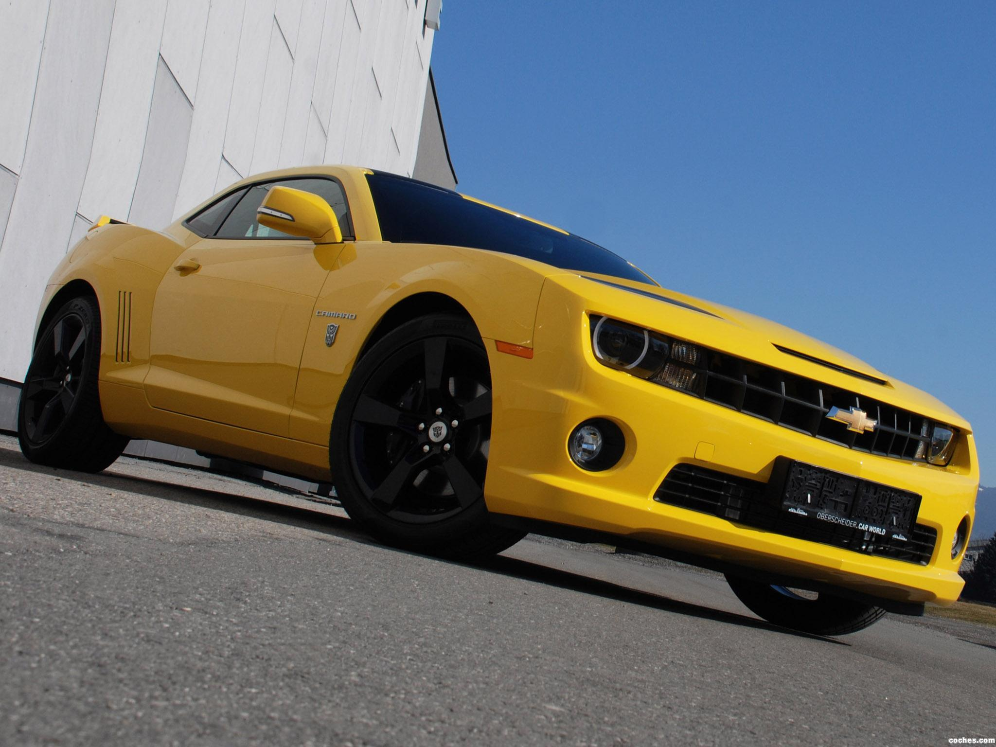 Foto 0 de OCT Chevrolet Camaro Yellow Steam Hammer  2012