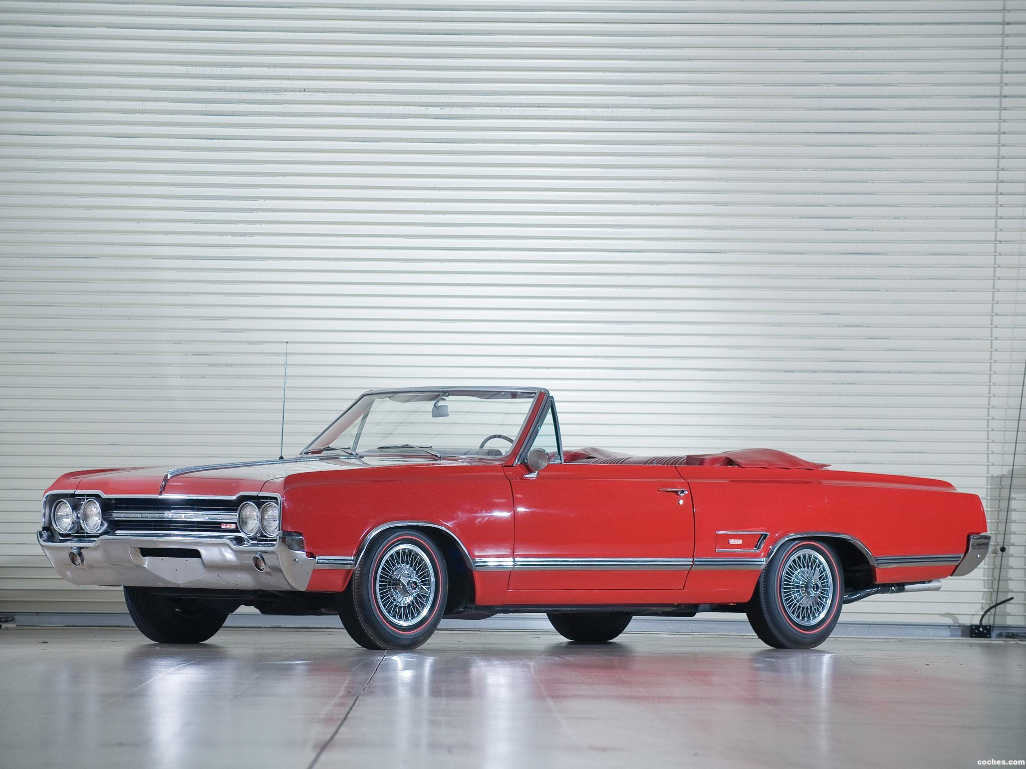 Foto 0 de Oldsmobile Cutlass 442 Convertible 1965