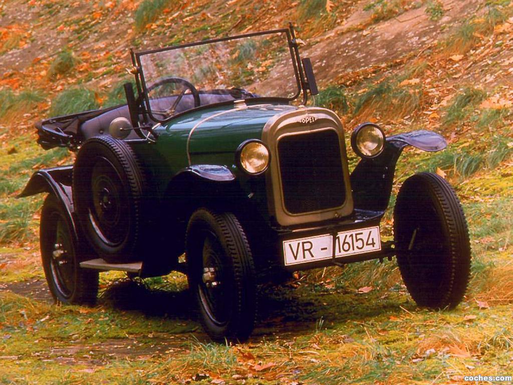 Foto 0 de Opel 4-12 PS Laubfrosch 1924