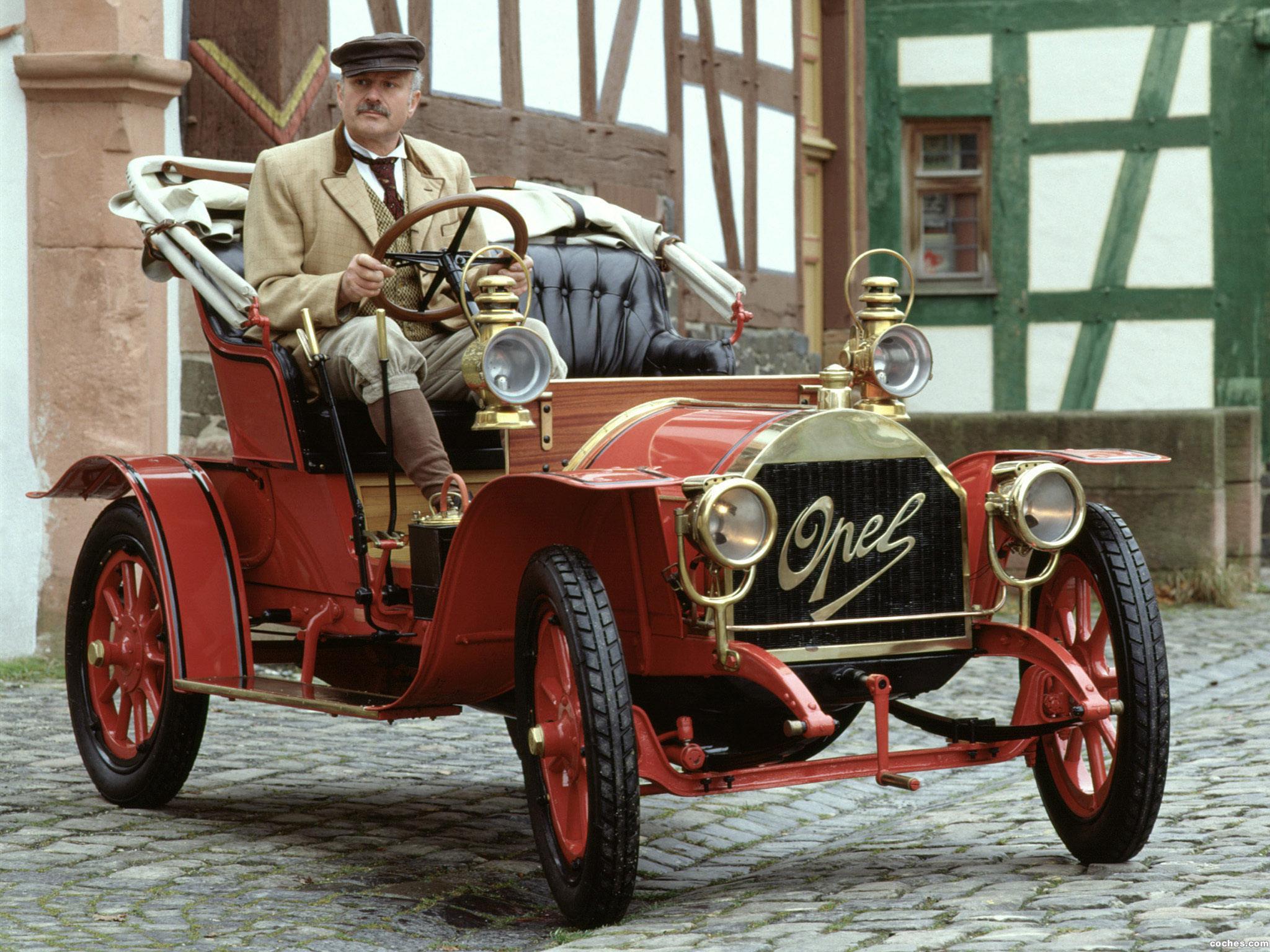 Foto 0 de Opel 4-8 PS Doktorwagen 1909