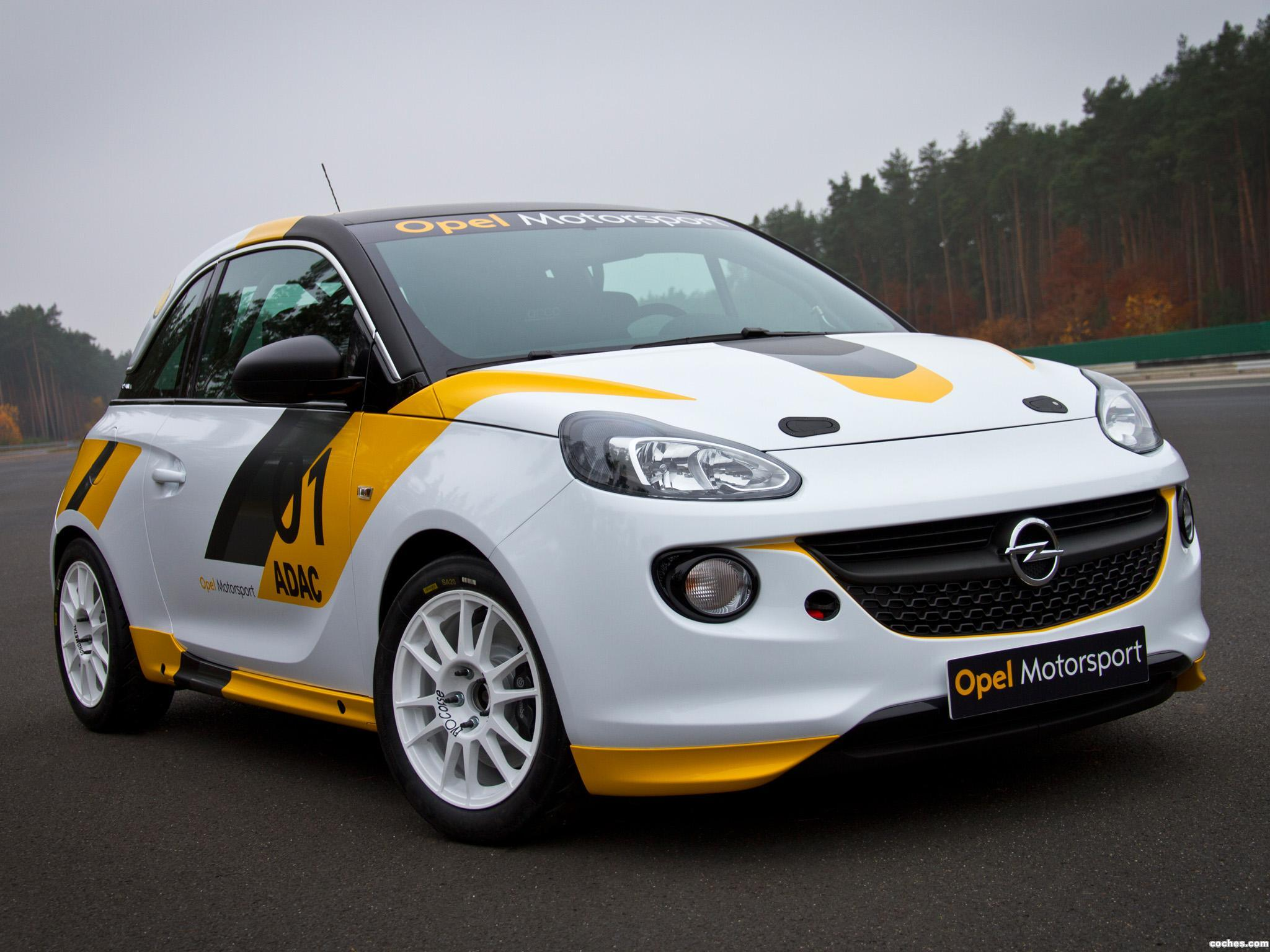 Foto 0 de Opel Adam R2 Rally Cup 2013