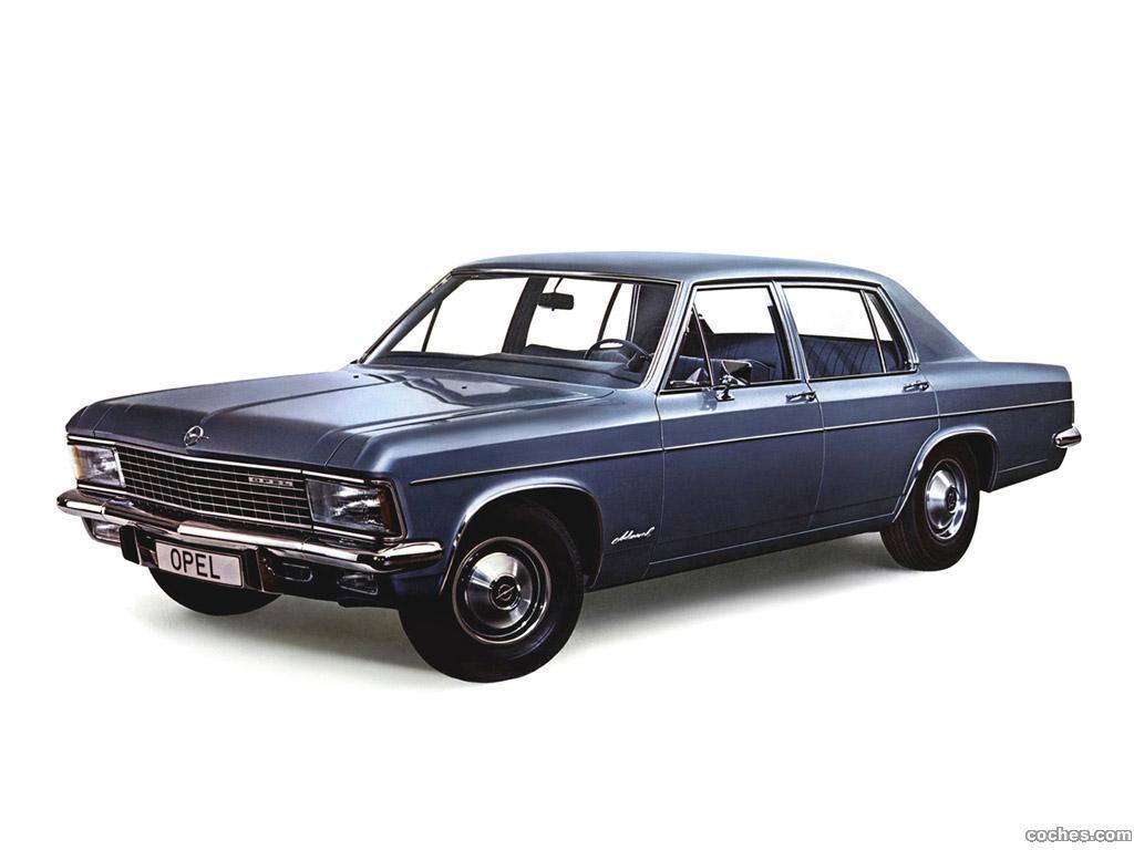Foto 0 de Opel Admiral B 1969