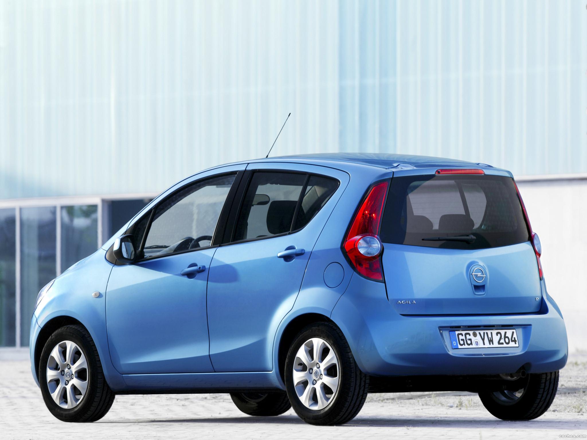 Foto 5 de Opel Agila (B) 2008