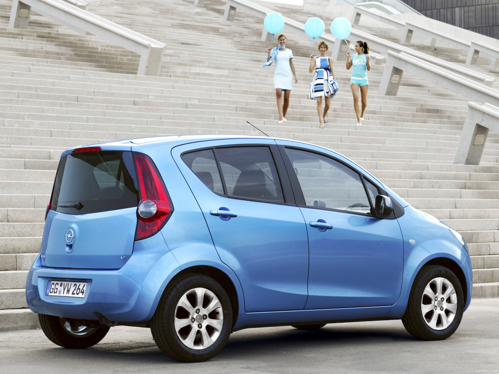 Foto 2 de Opel Agila (B) 2008