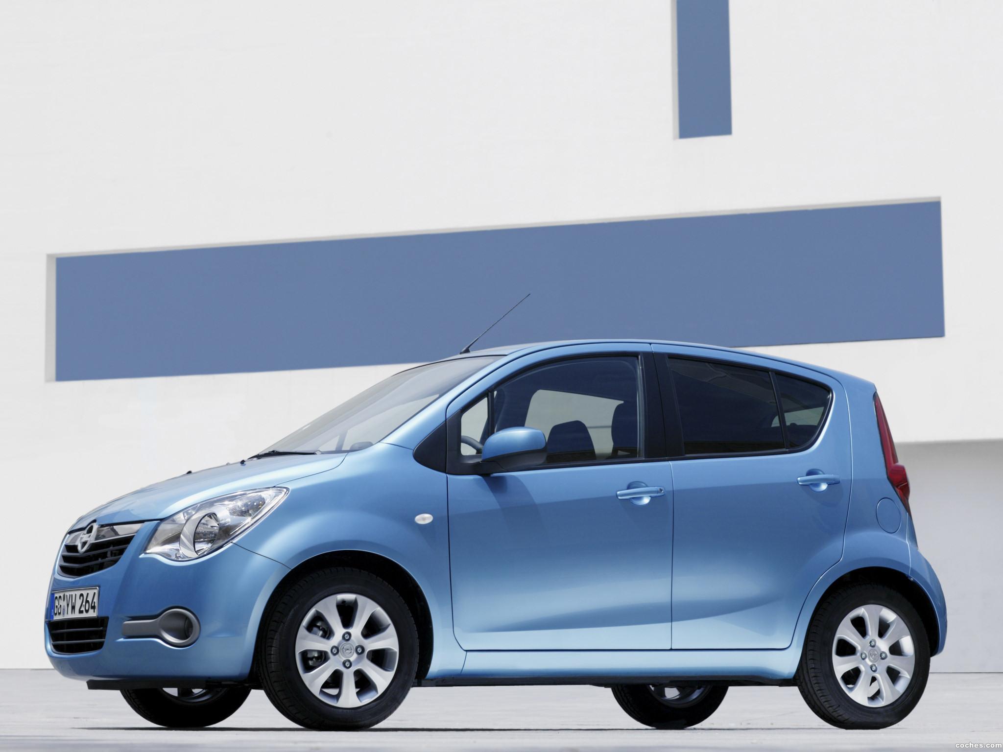 Foto 1 de Opel Agila (B) 2008