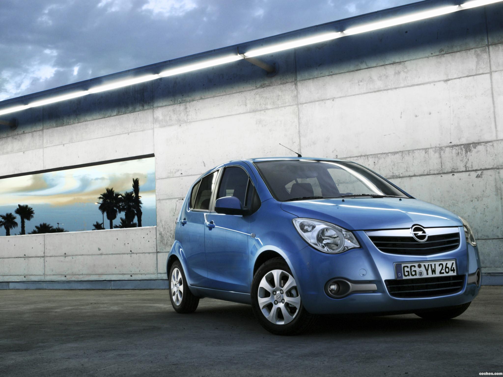 Foto 0 de Opel Agila (B) 2008