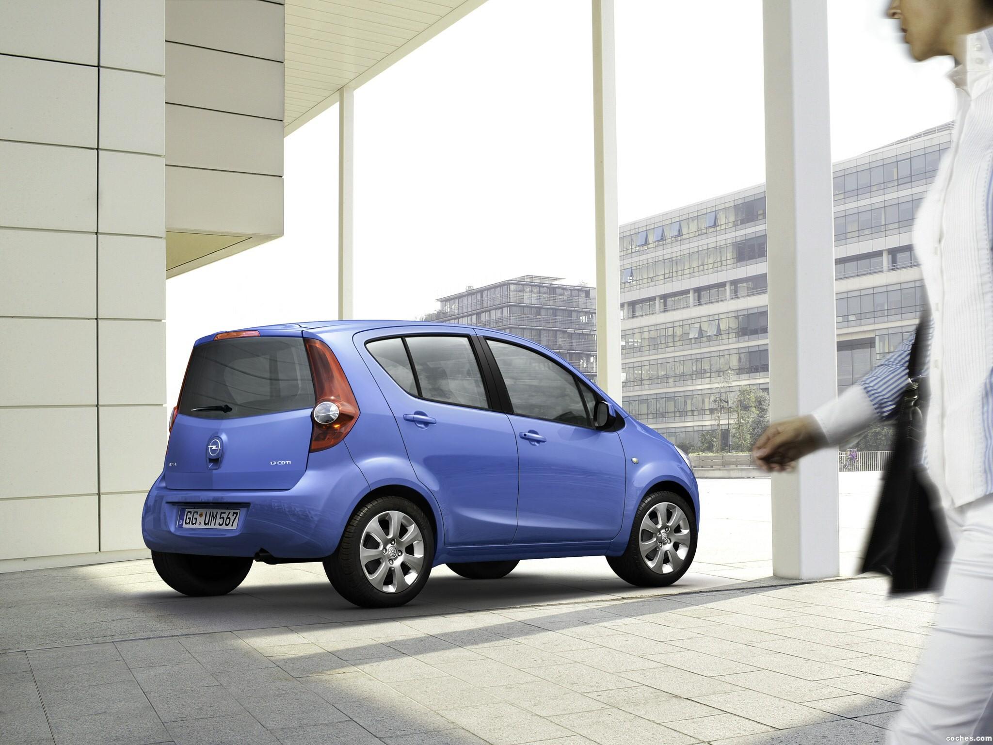 Foto 13 de Opel Agila (B) 2008