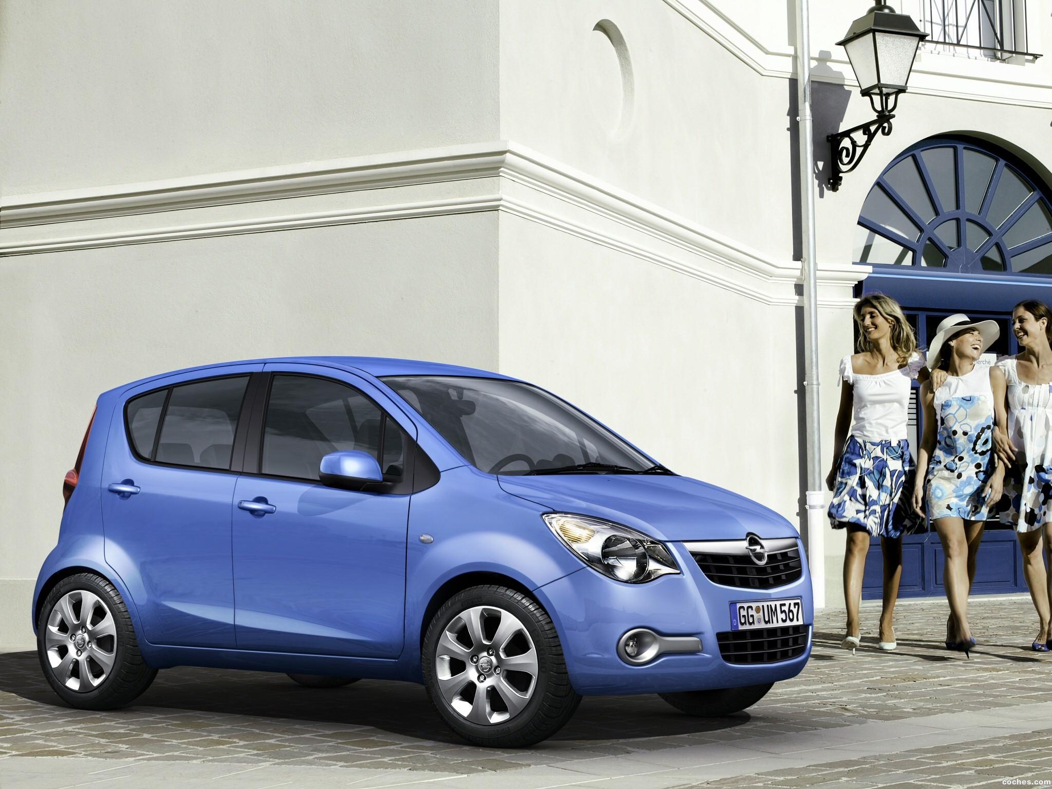 Foto 12 de Opel Agila (B) 2008