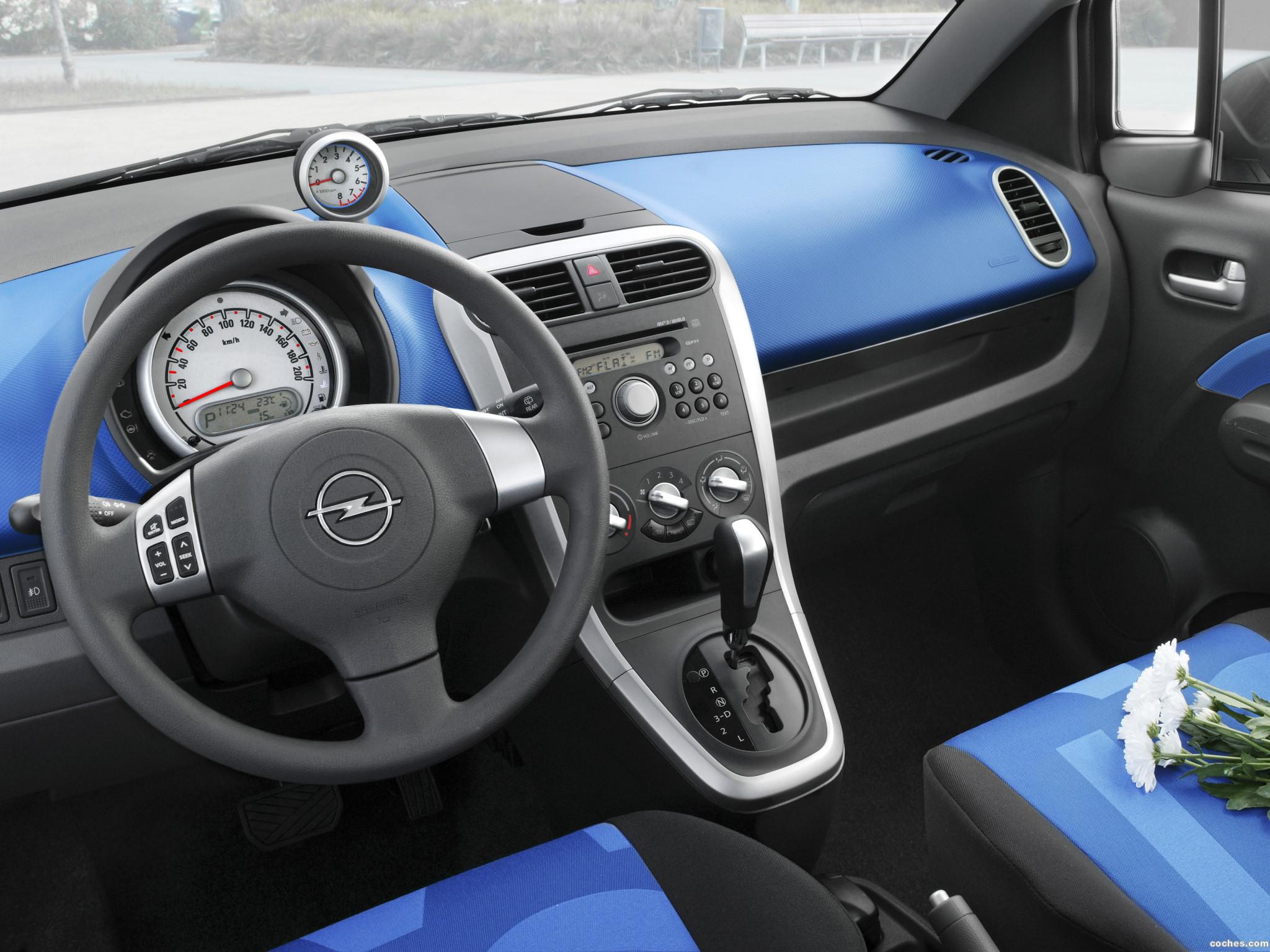Foto 11 de Opel Agila (B) 2008