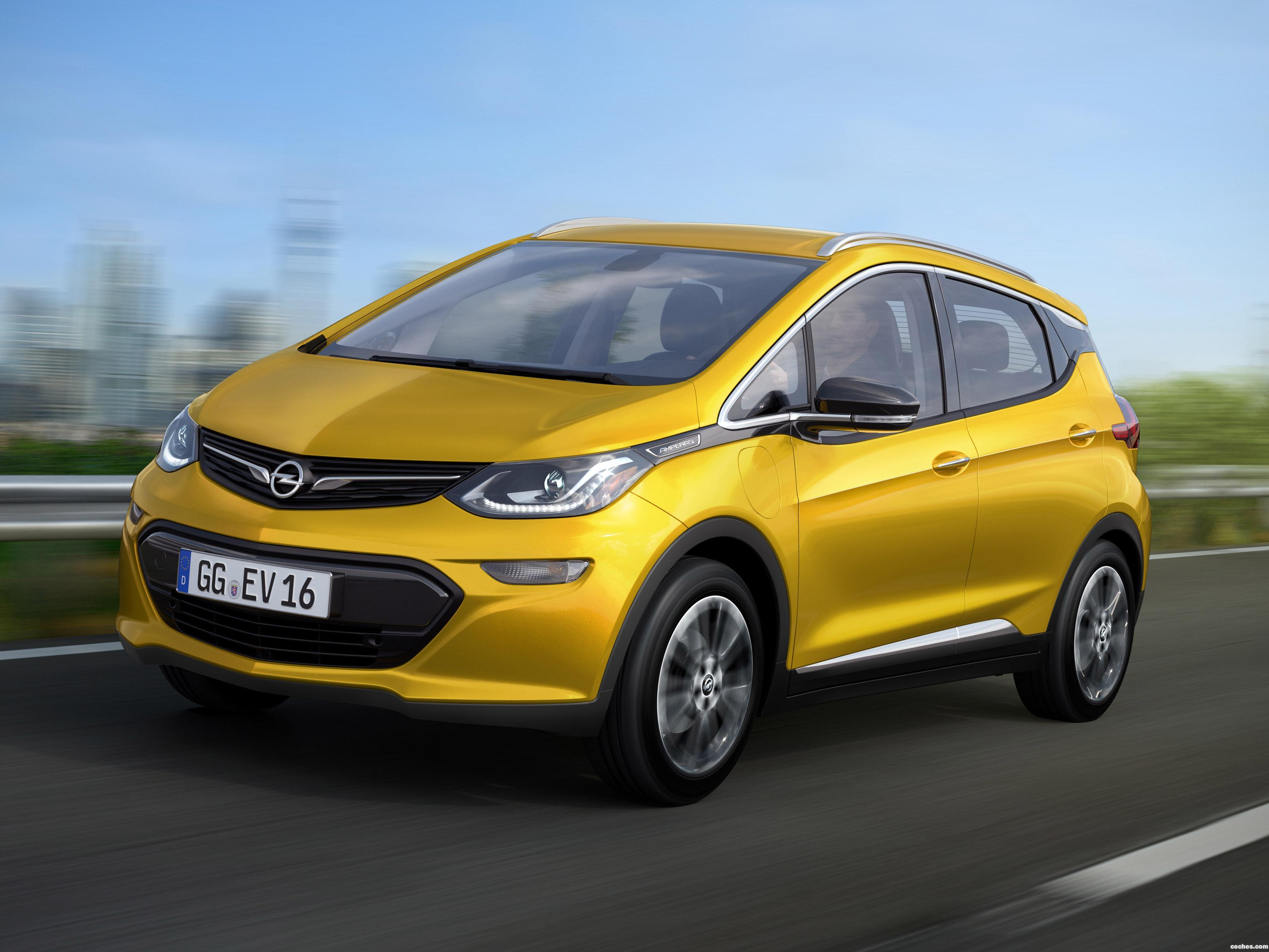 Foto 0 de Opel Ampera-E 2016