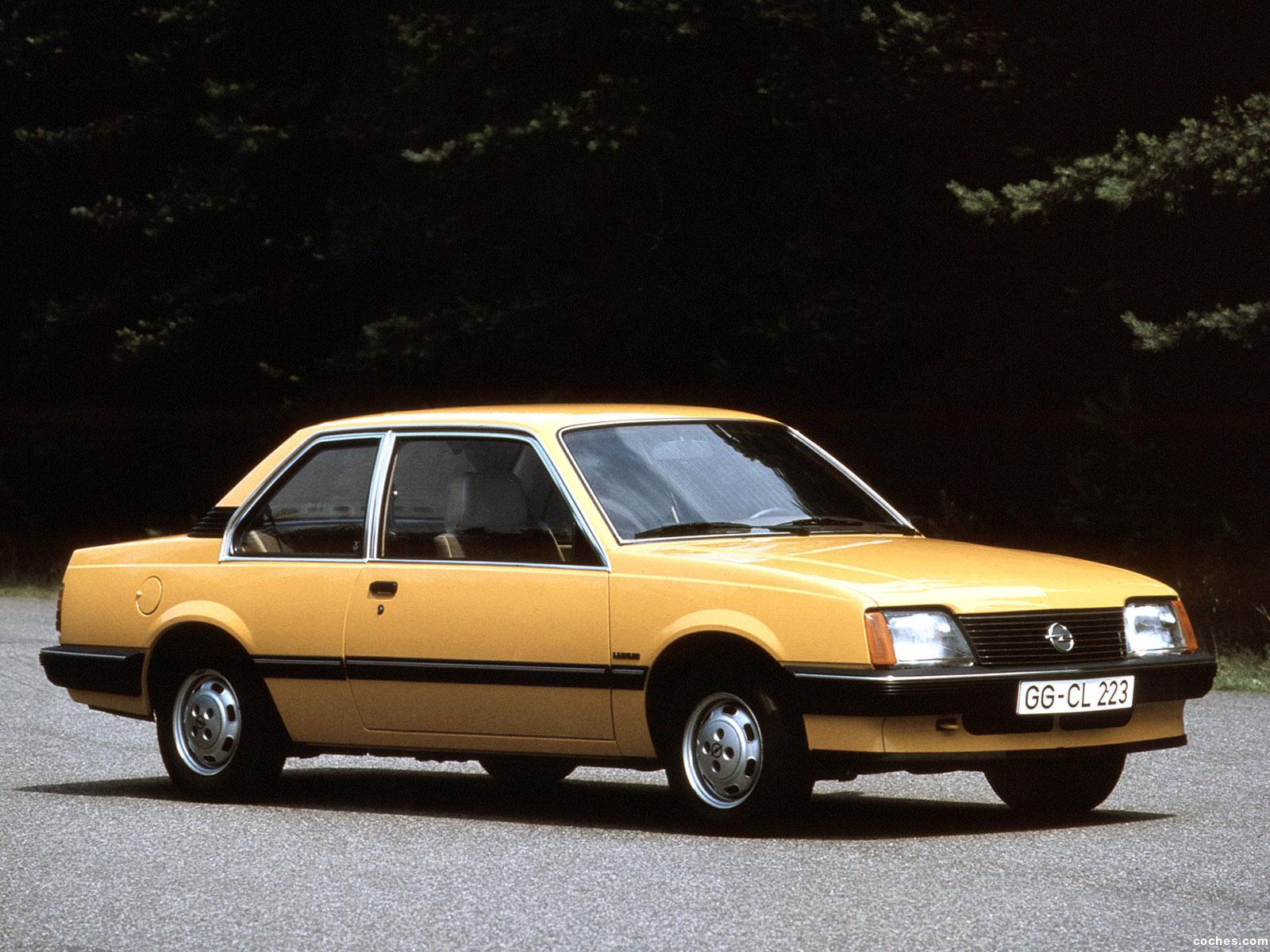 Foto 0 de Opel Ascona C1 2 puertas 1981