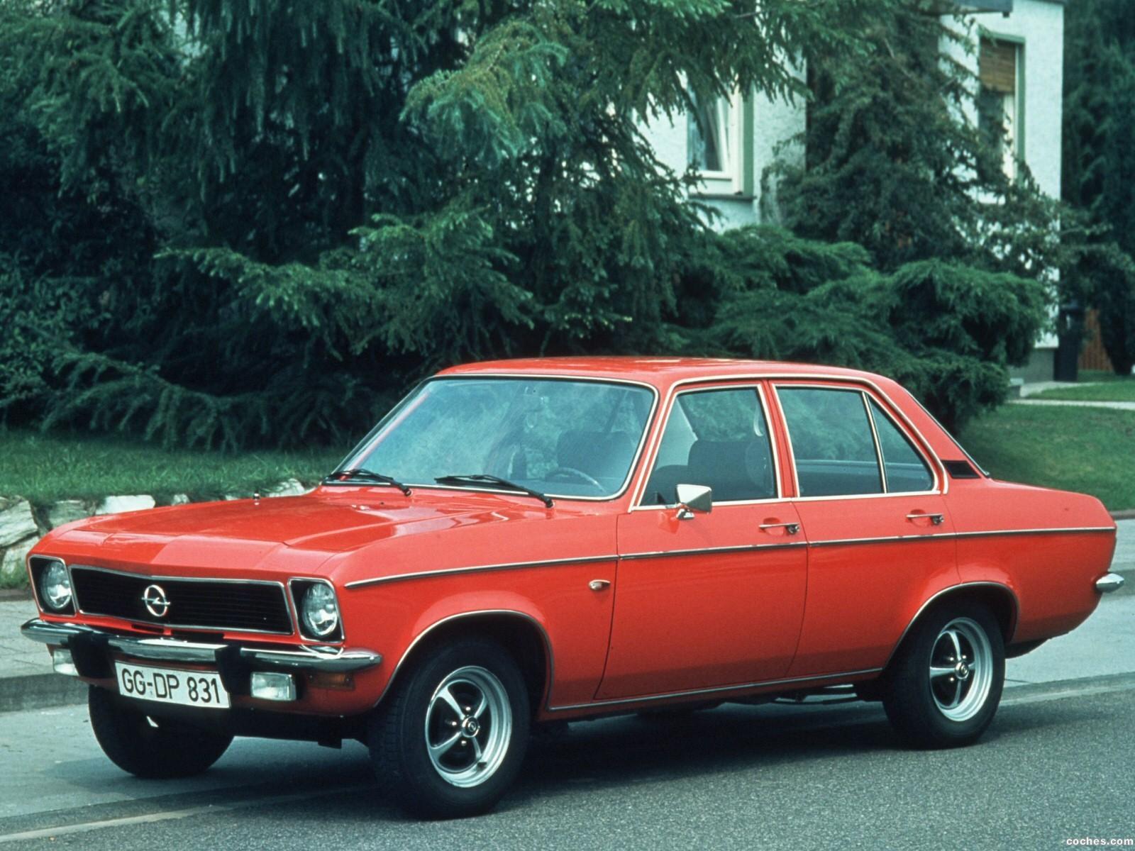Foto 0 de Opel Ascona A 1970