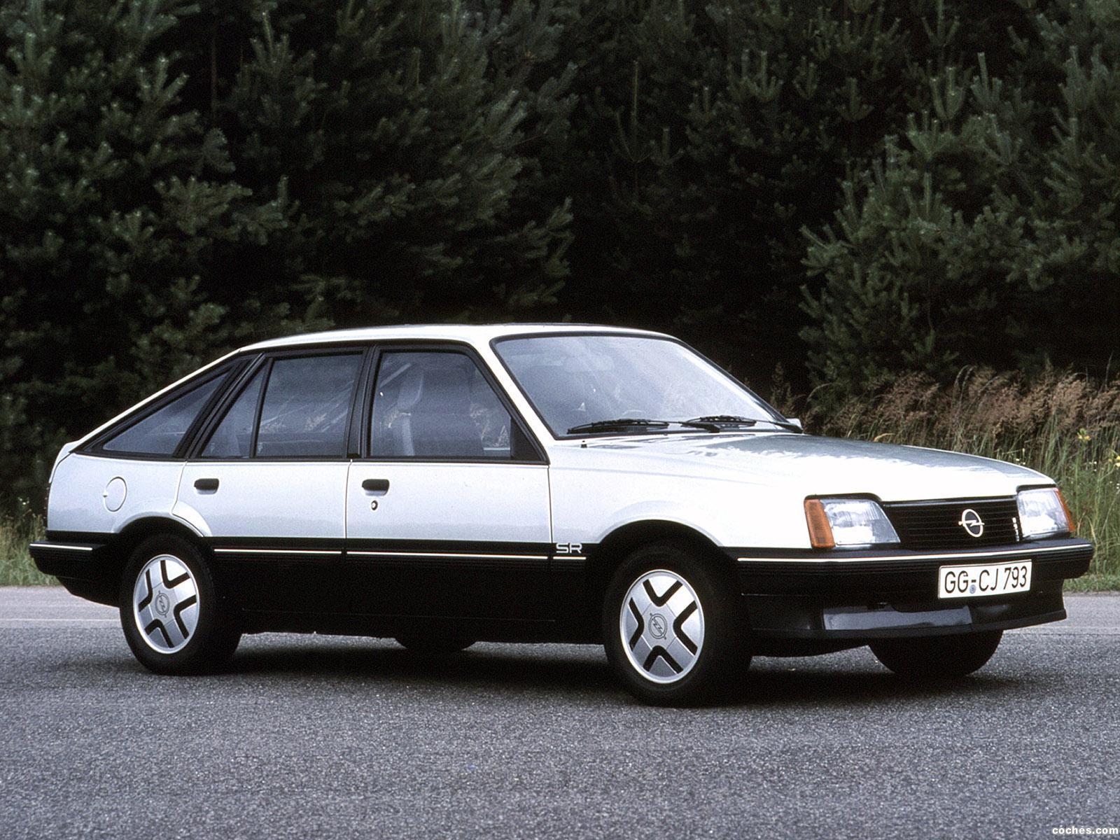 Foto 0 de Opel Ascona CC SR C1 1981