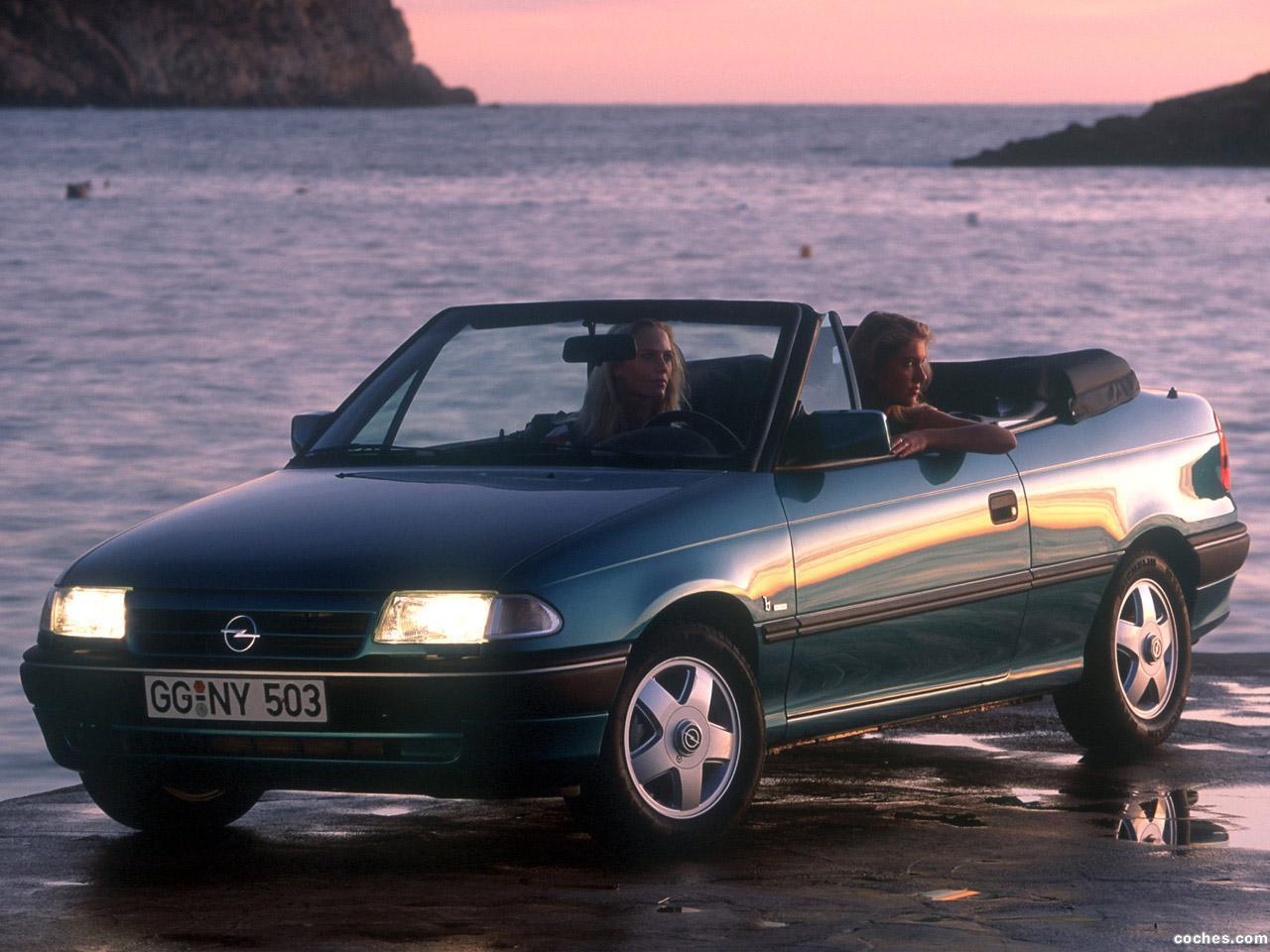 Foto 0 de Opel Astra Cabrio F 1993
