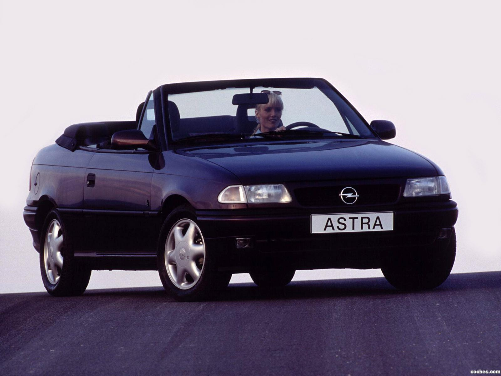 fotos de opel astra cabrio f 1994. Black Bedroom Furniture Sets. Home Design Ideas