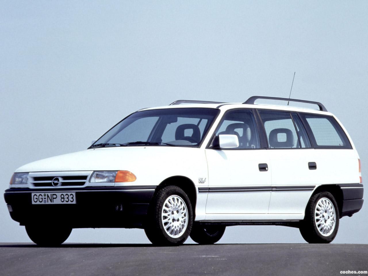 Foto 0 de Opel Astra Caravan F 1991