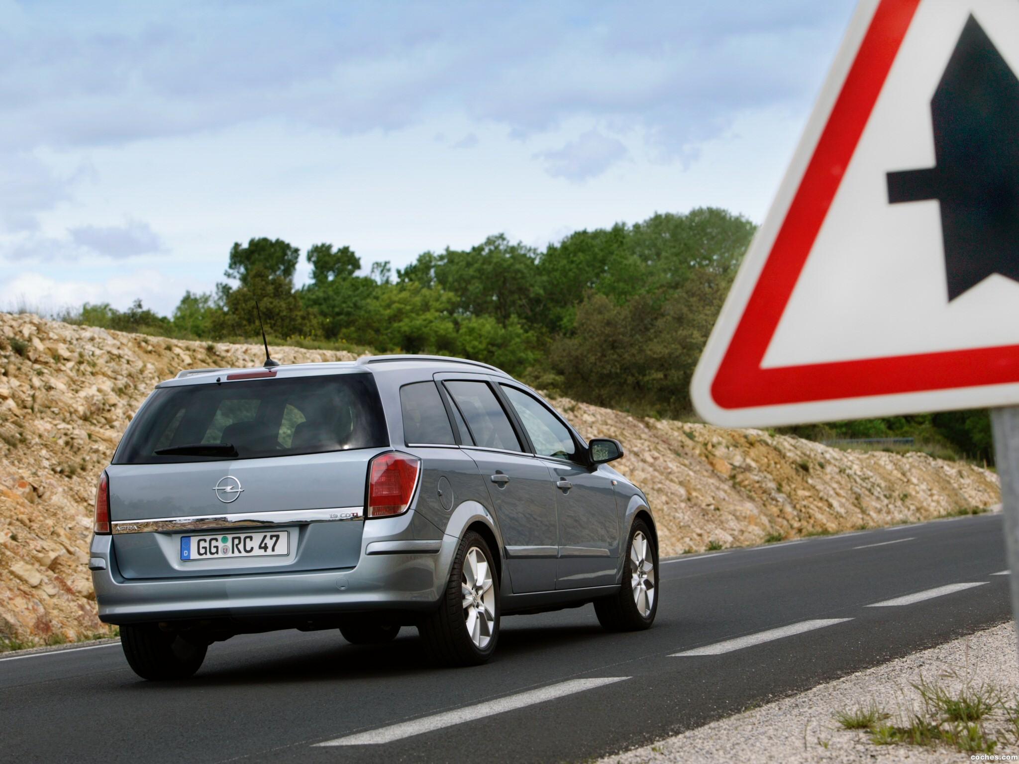 Foto 10 de Opel Astra Combi H 2004