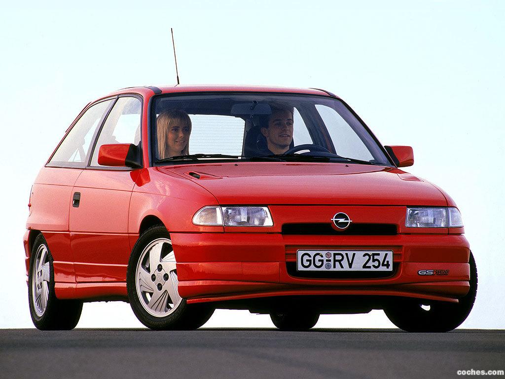 Foto 0 de Opel Astra F GSI 1991