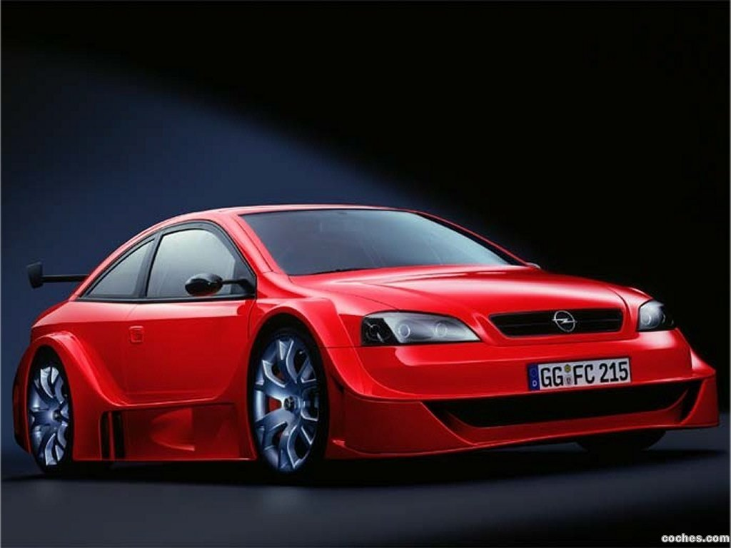 Foto 3 de Opel Astra G OPC X-Treme Concept 2001