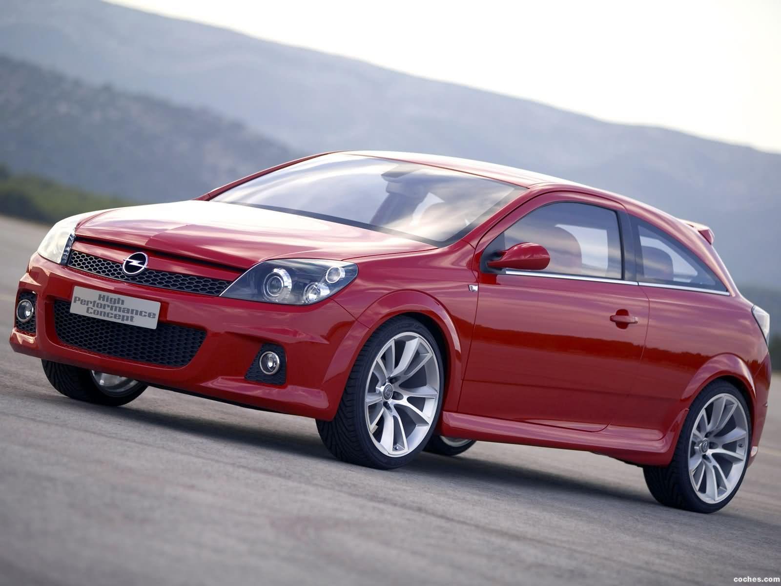 Foto 0 de Opel Astra GTC HP Concept High Perfomace 2005