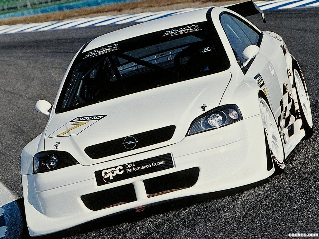 Foto 0 de Opel Astra OPC DTM Prototype 2000