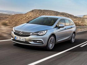 Fotos de Opel Astra Sports Tourer 2015