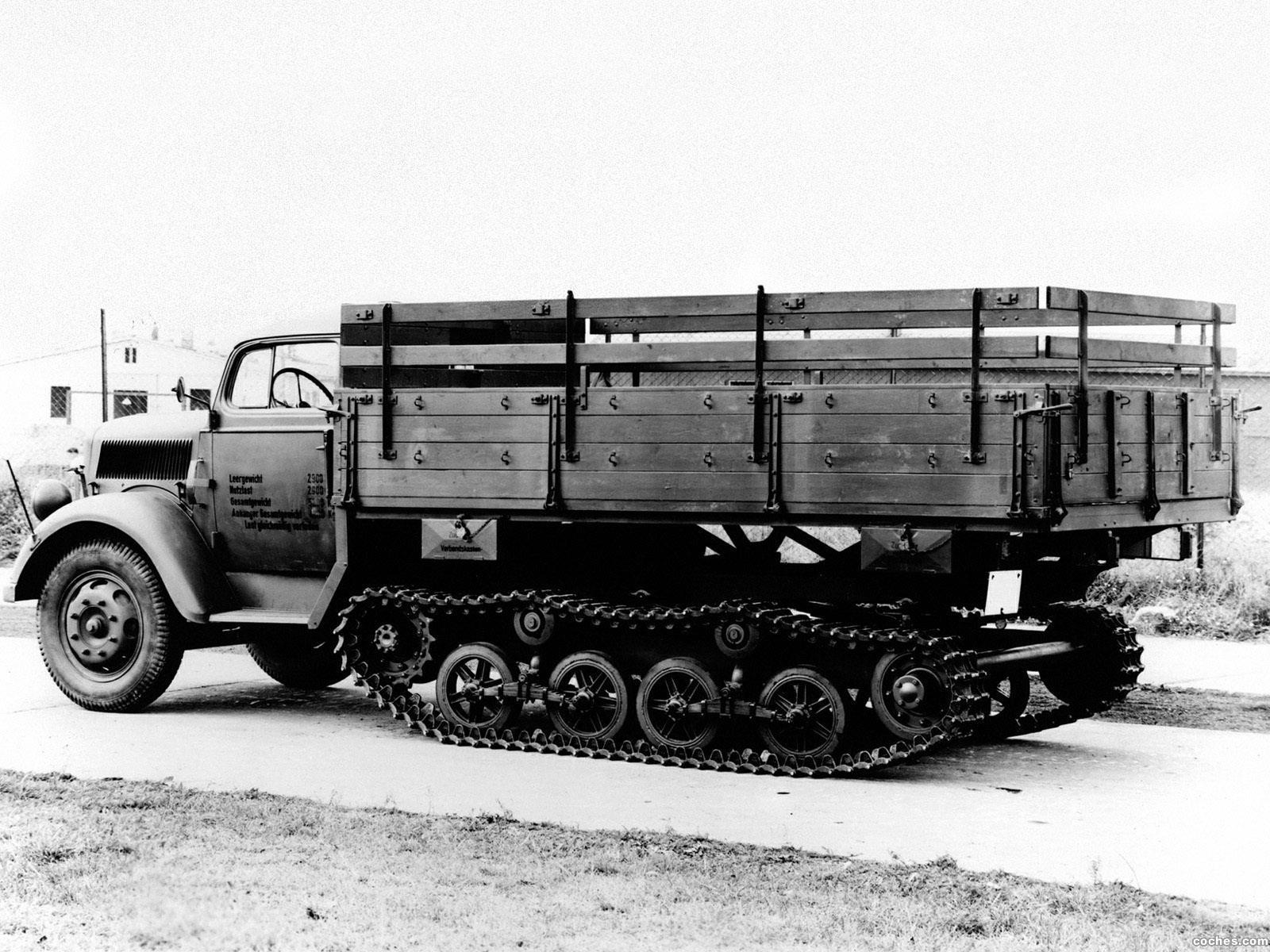 Foto 0 de Opel Blitz Maultier 1942
