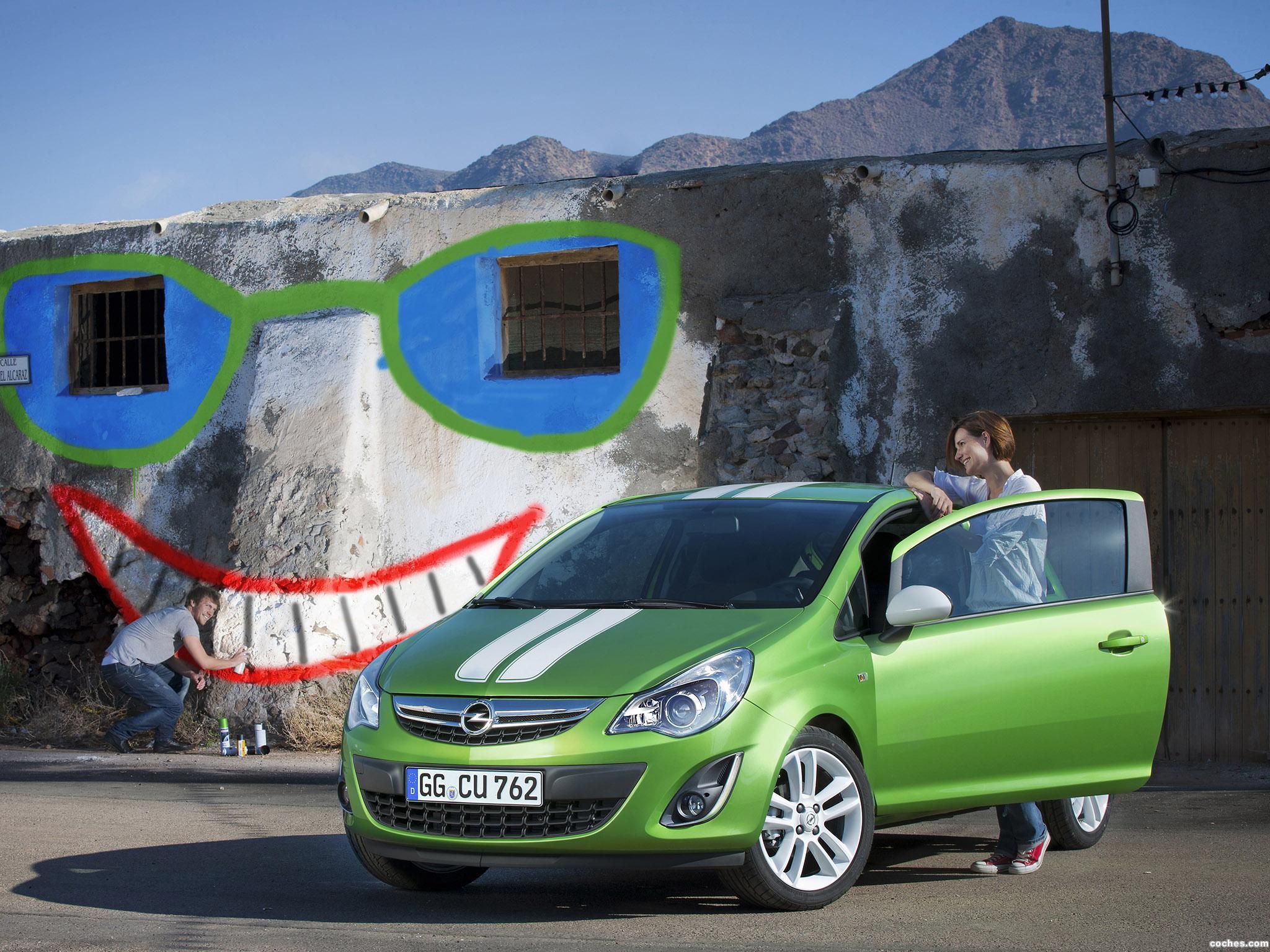 Foto 2 de Opel Corsa (D) 2010