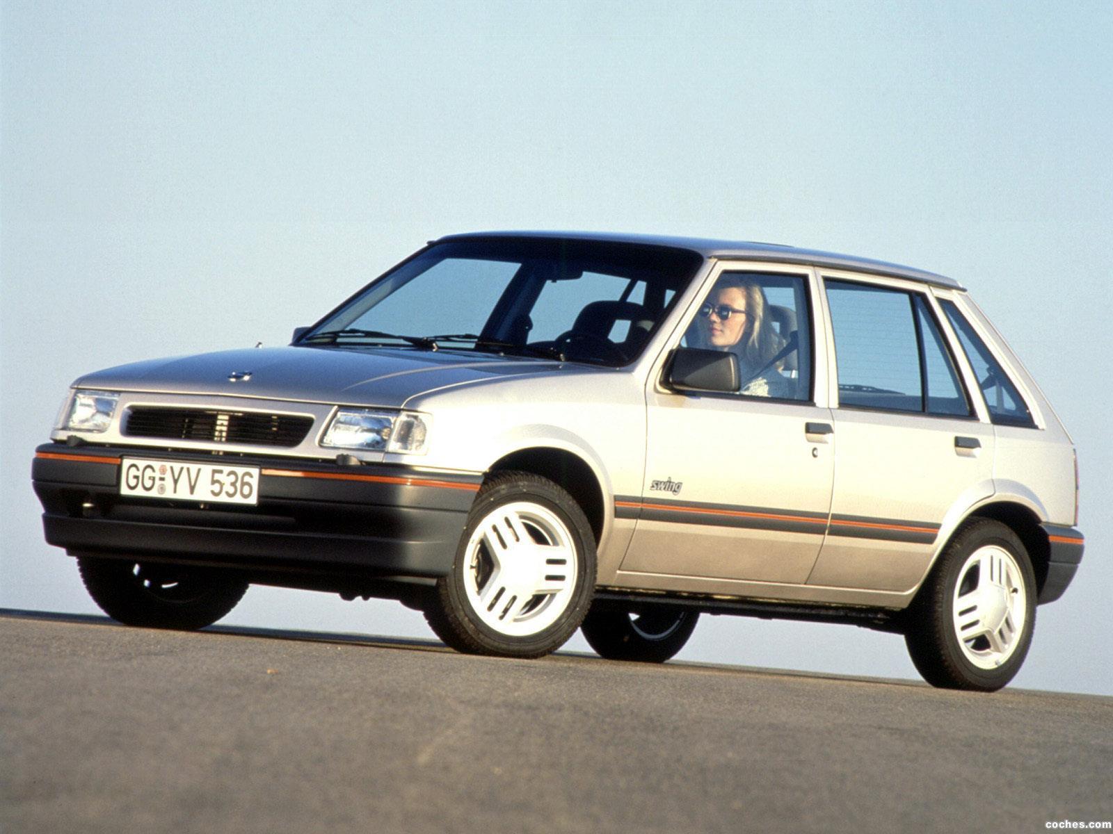 Foto 0 de Opel Corsa A 5 puertas 1990