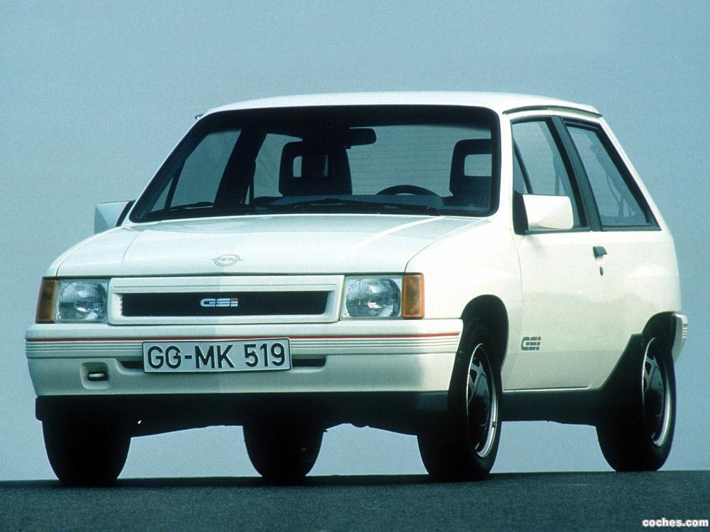 Foto 4 de Opel Corsa A GSi 1988