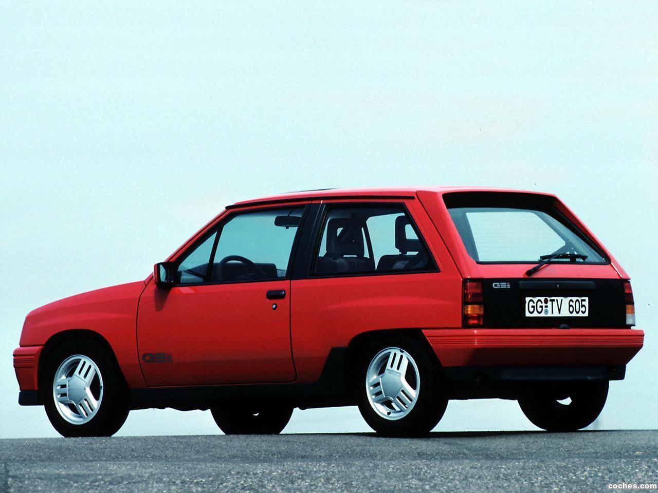 Foto 2 de Opel Corsa A GSi 1988