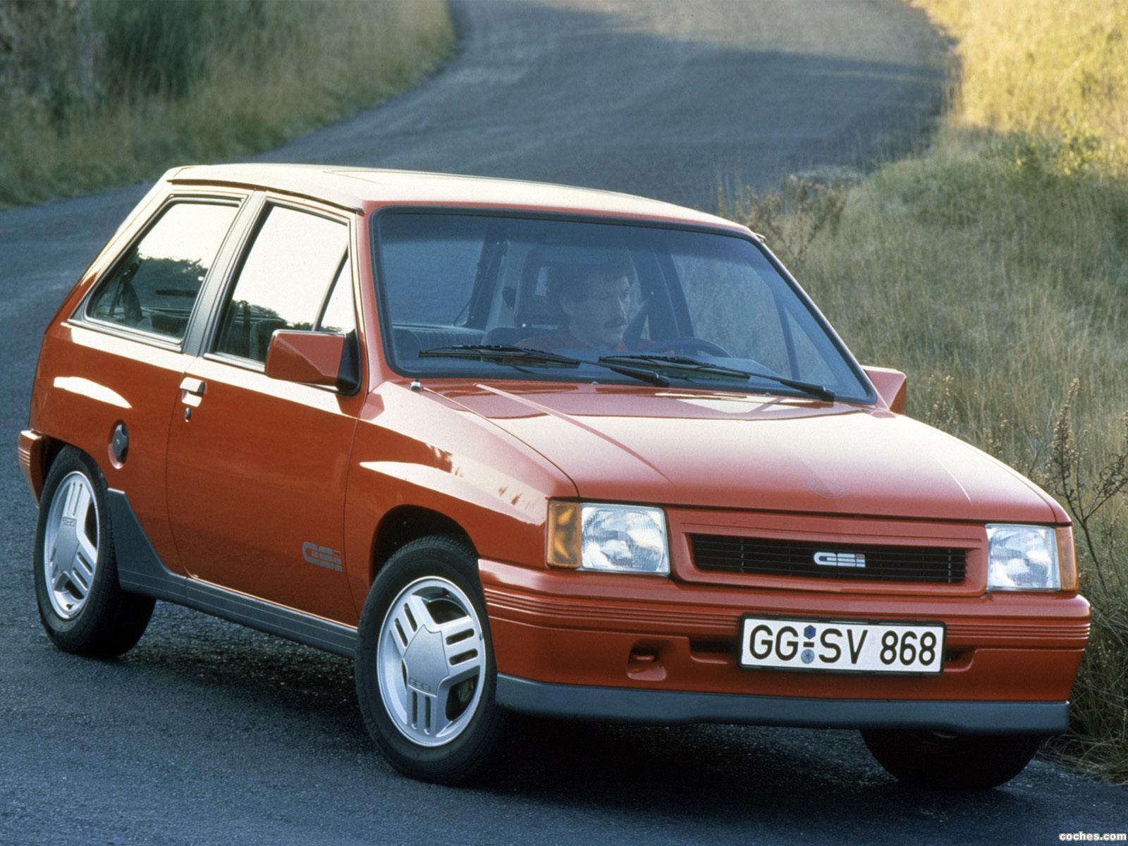 Foto 0 de Opel Corsa A GSi 1988